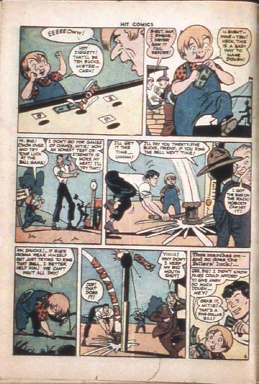 Read online Hit Comics comic -  Issue #37 - 36