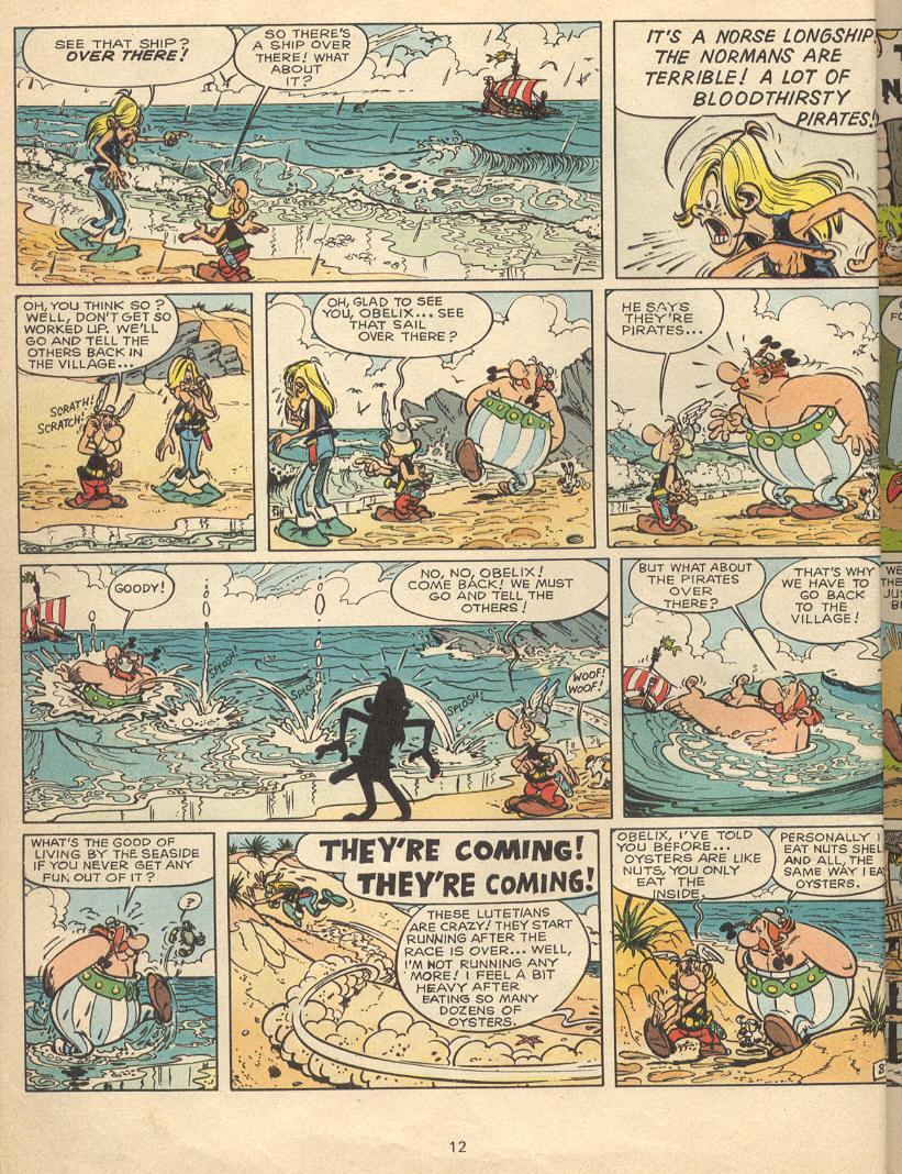 Read online Asterix comic -  Issue #9 - 9