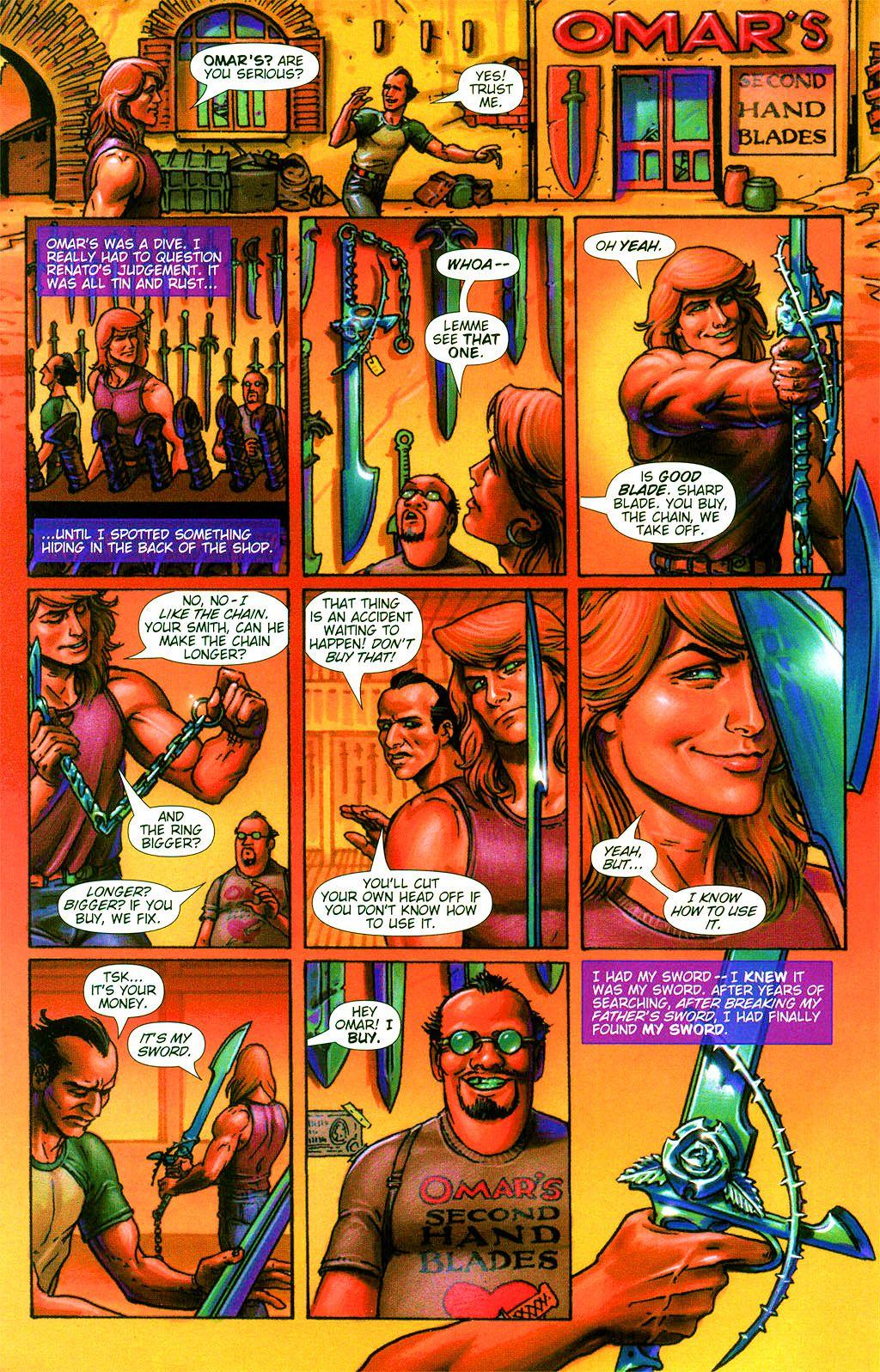 Read online Dawn: Three Tiers comic -  Issue #2 - 4