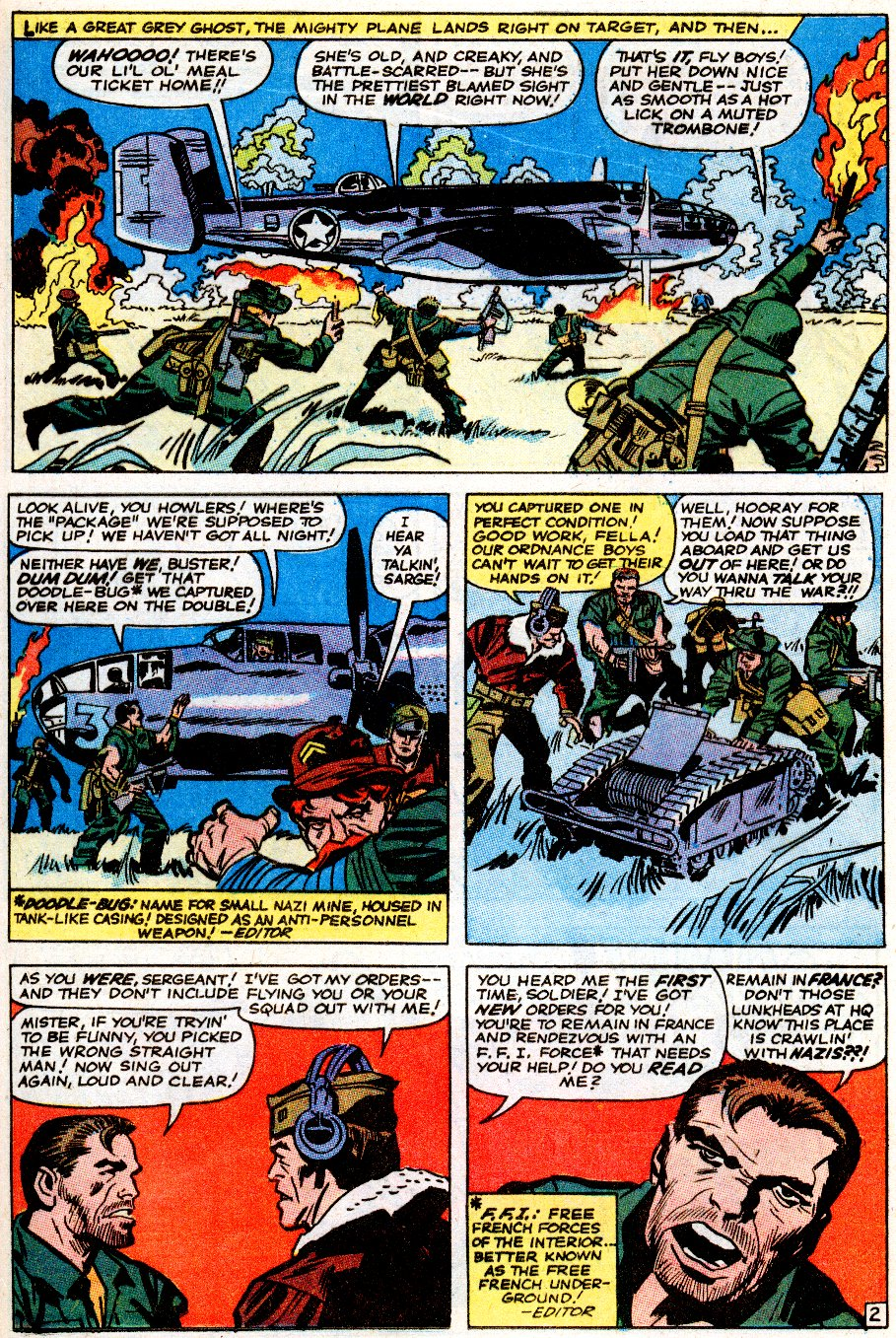 Read online Sgt. Fury comic -  Issue # _Special 5 - 39