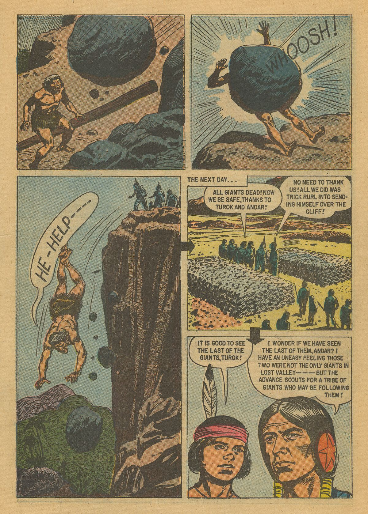 Read online Turok, Son of Stone comic -  Issue #16 - 15
