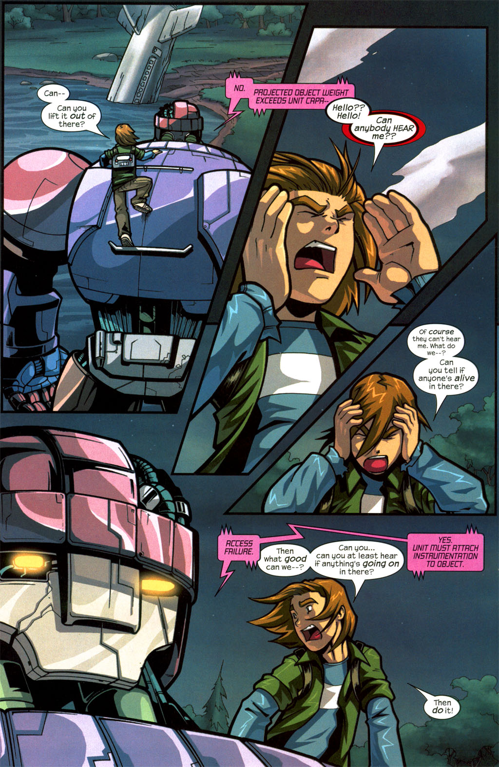 Read online Sentinel comic -  Issue #8 - 6