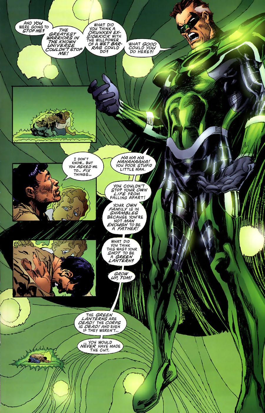 Read online Green Lantern: Legacy: The Last Will and Testament of Hal Jordan comic -  Issue # TPB - 91