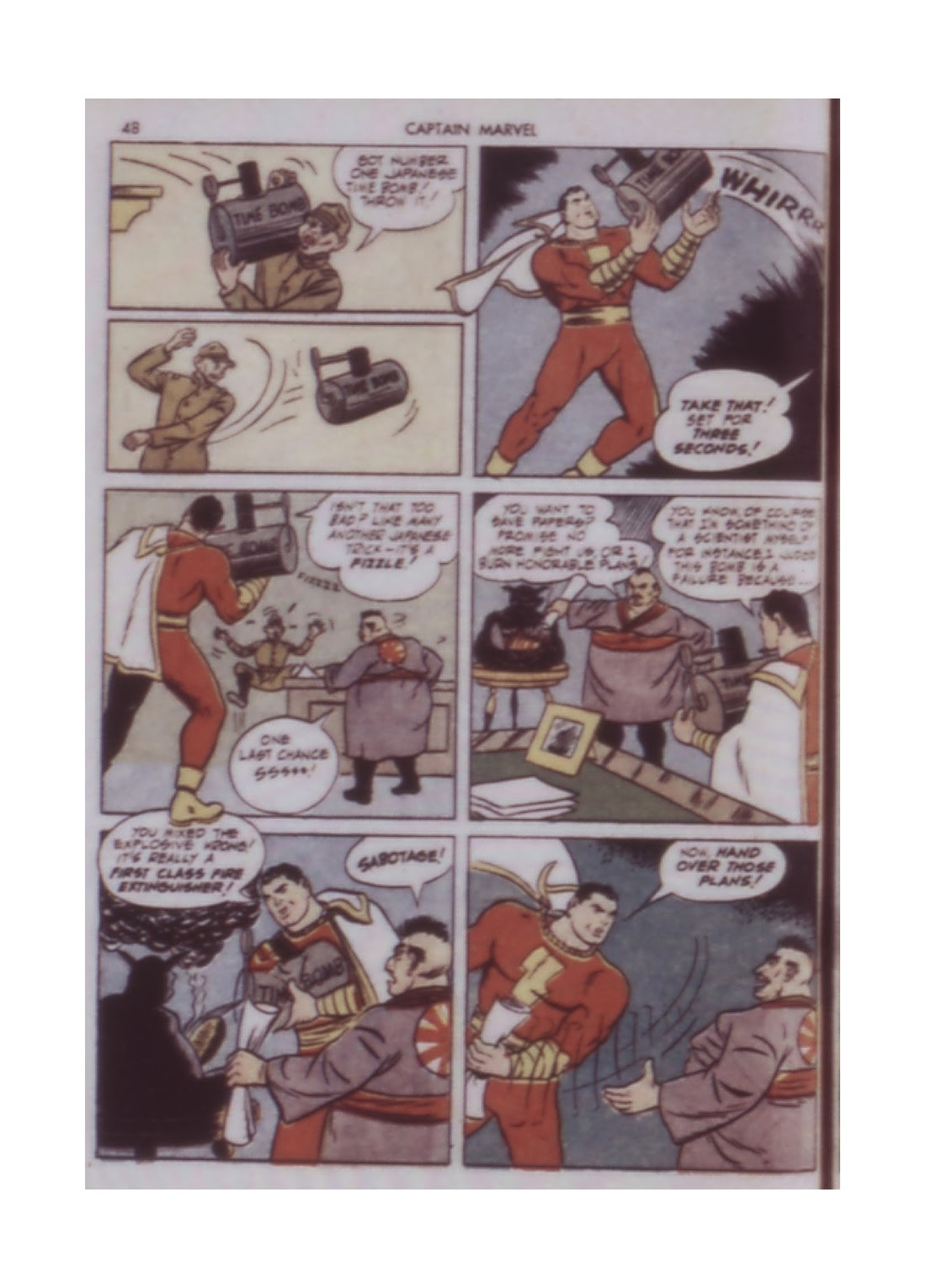 Captain Marvel Adventures issue 14 - Page 48