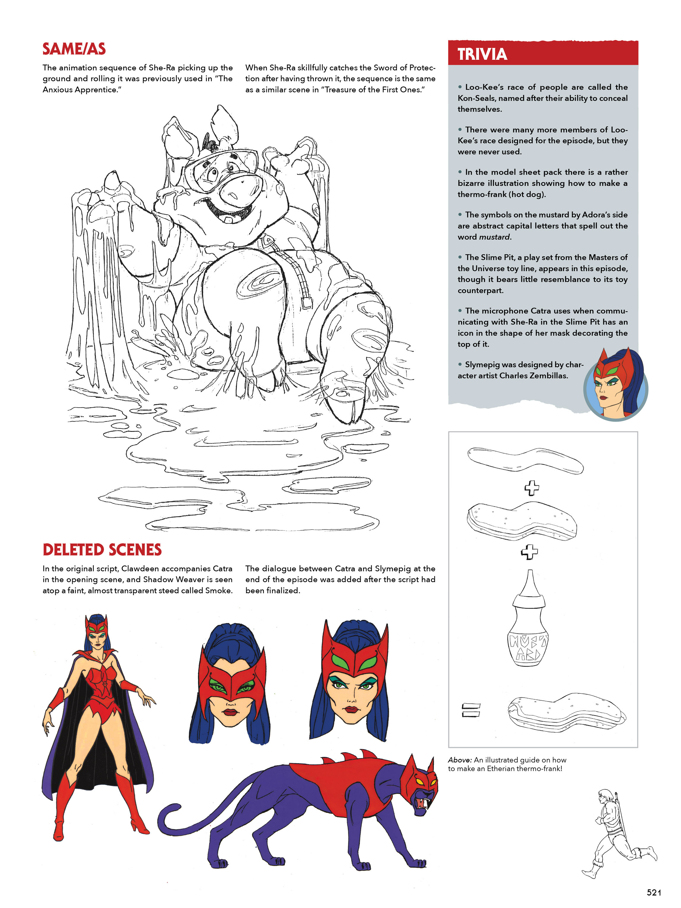 Read online He-Man and She-Ra: A Complete Guide to the Classic Animated Adventures comic -  Issue # TPB (Part 3) - 121