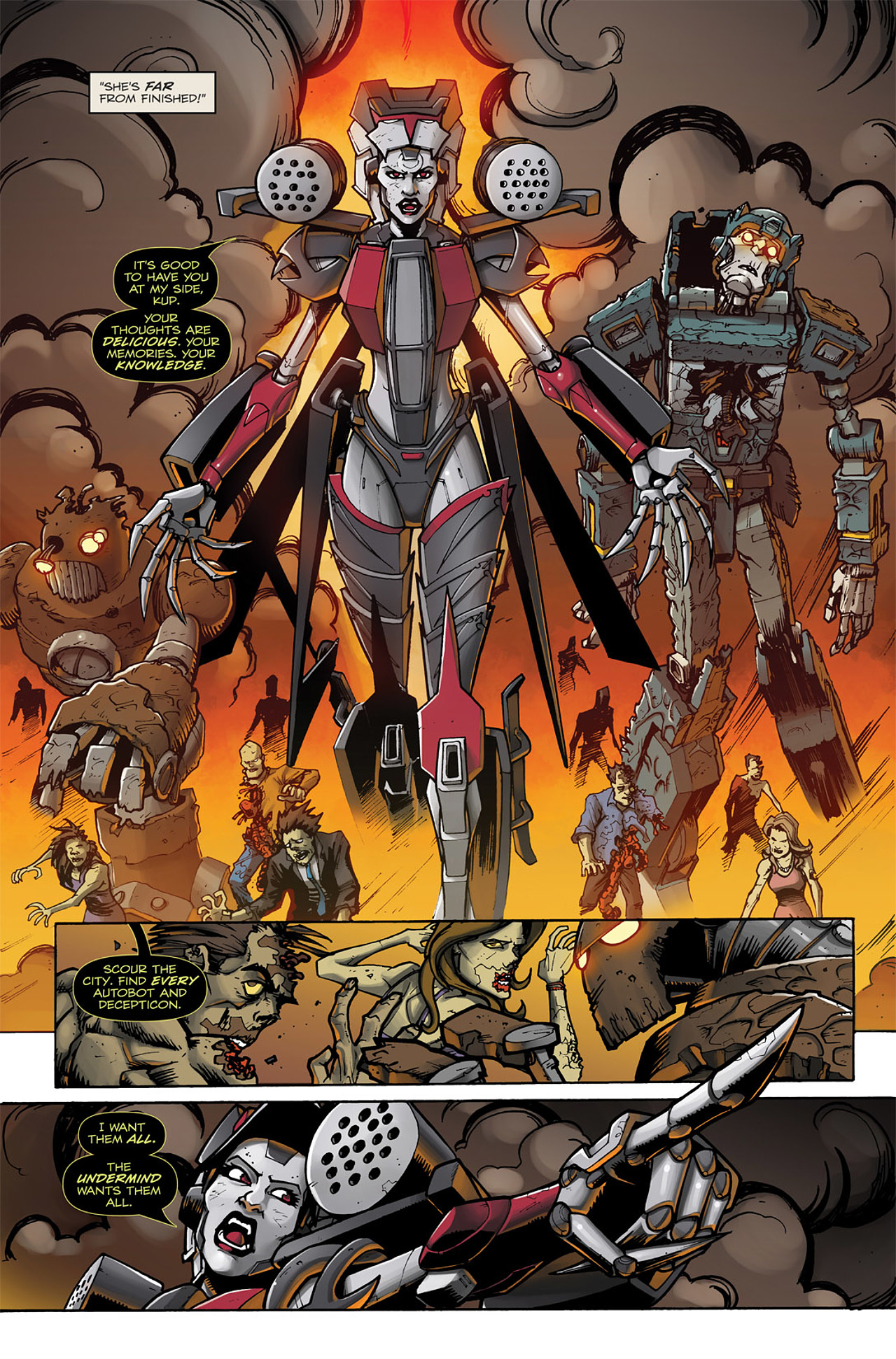 Read online Transformers: Infestation comic -  Issue #2 - 15