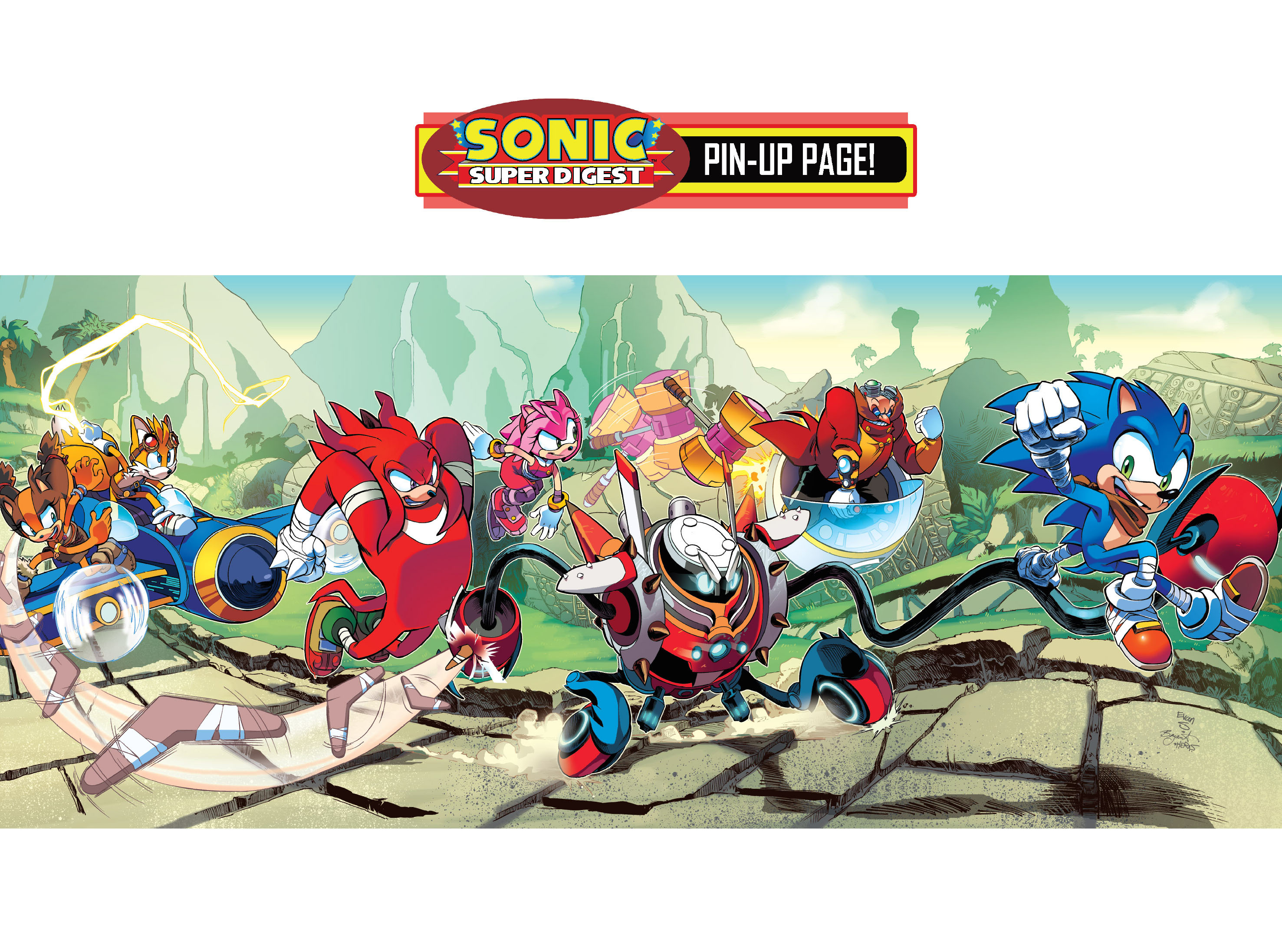 Read online Sonic Super Digest comic -  Issue #10 - 22