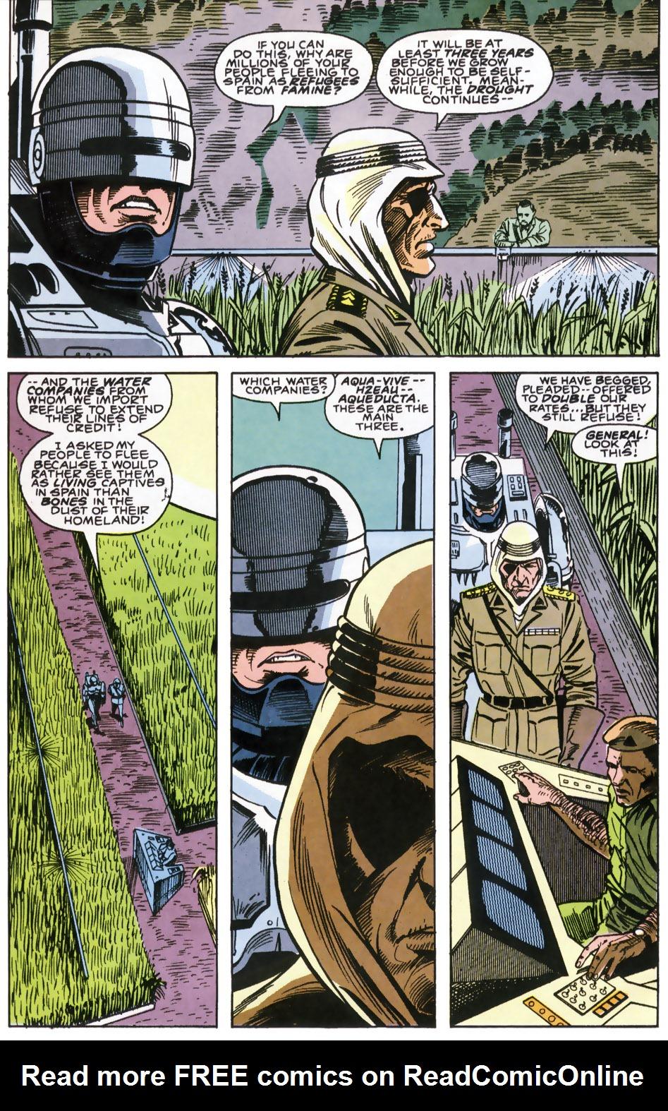 Read online Robocop (1990) comic -  Issue #6 - 7
