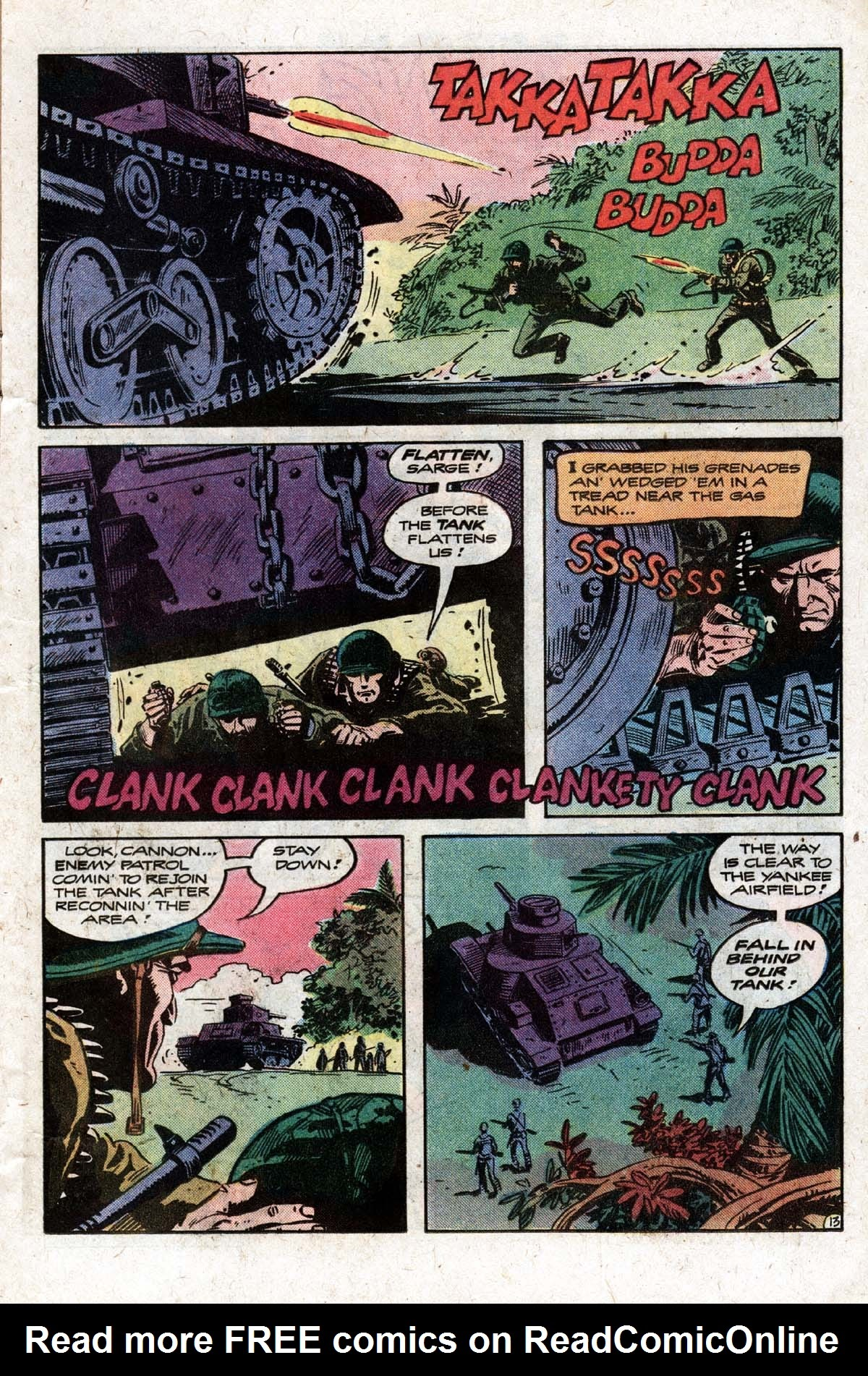 Read online Sgt. Rock comic -  Issue #320 - 16