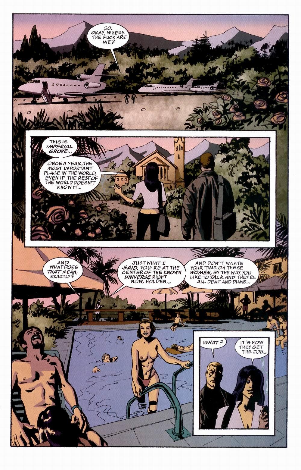 Read online Sleeper comic -  Issue #3 - 19