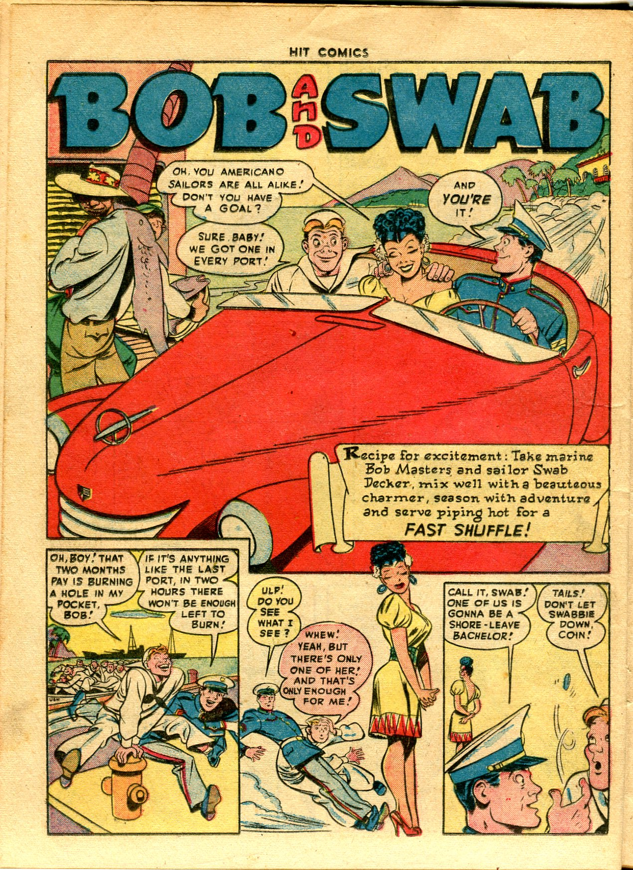 Read online Hit Comics comic -  Issue #48 - 32
