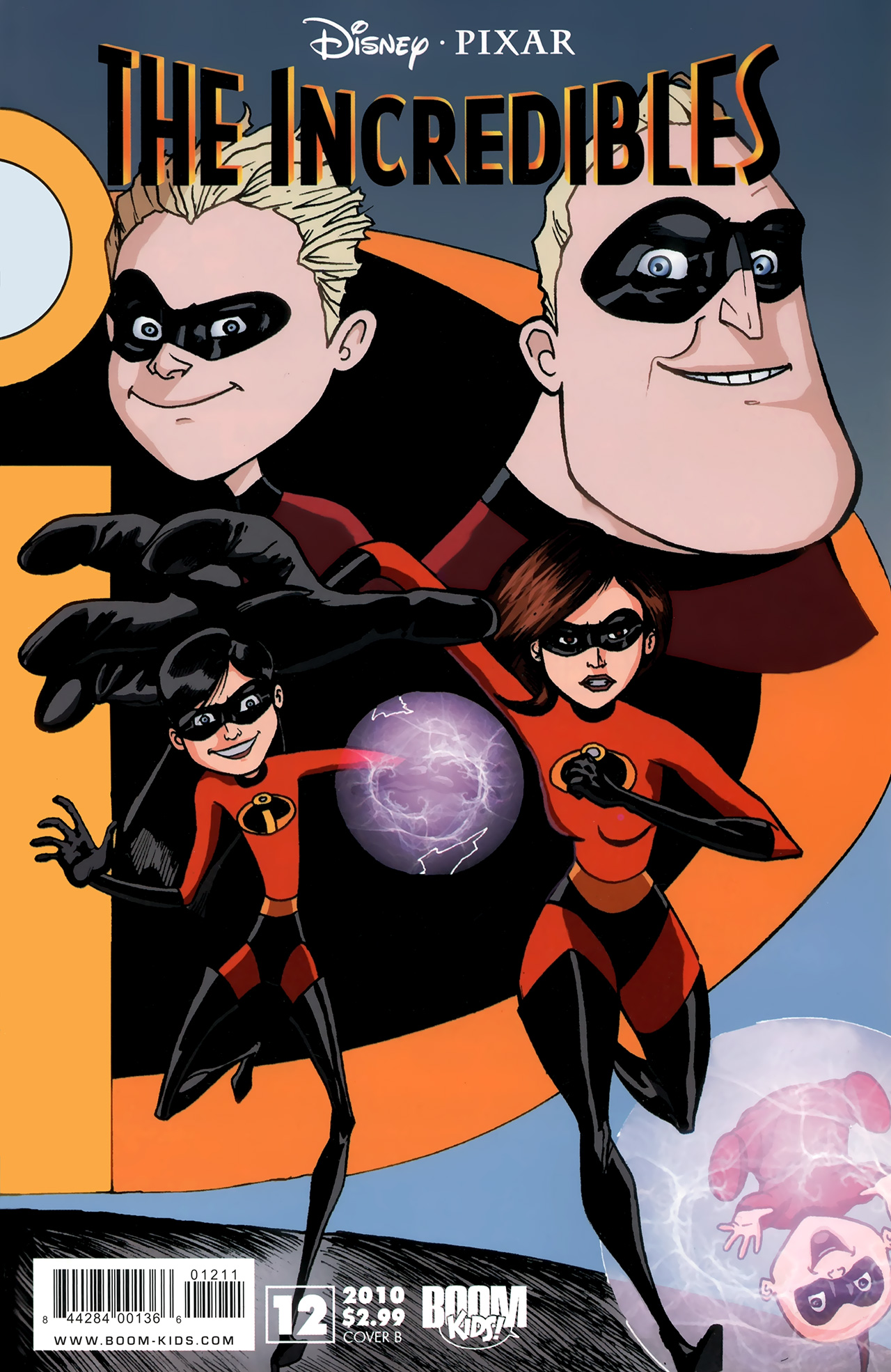 The Incredibles (2009) 12 Page 1