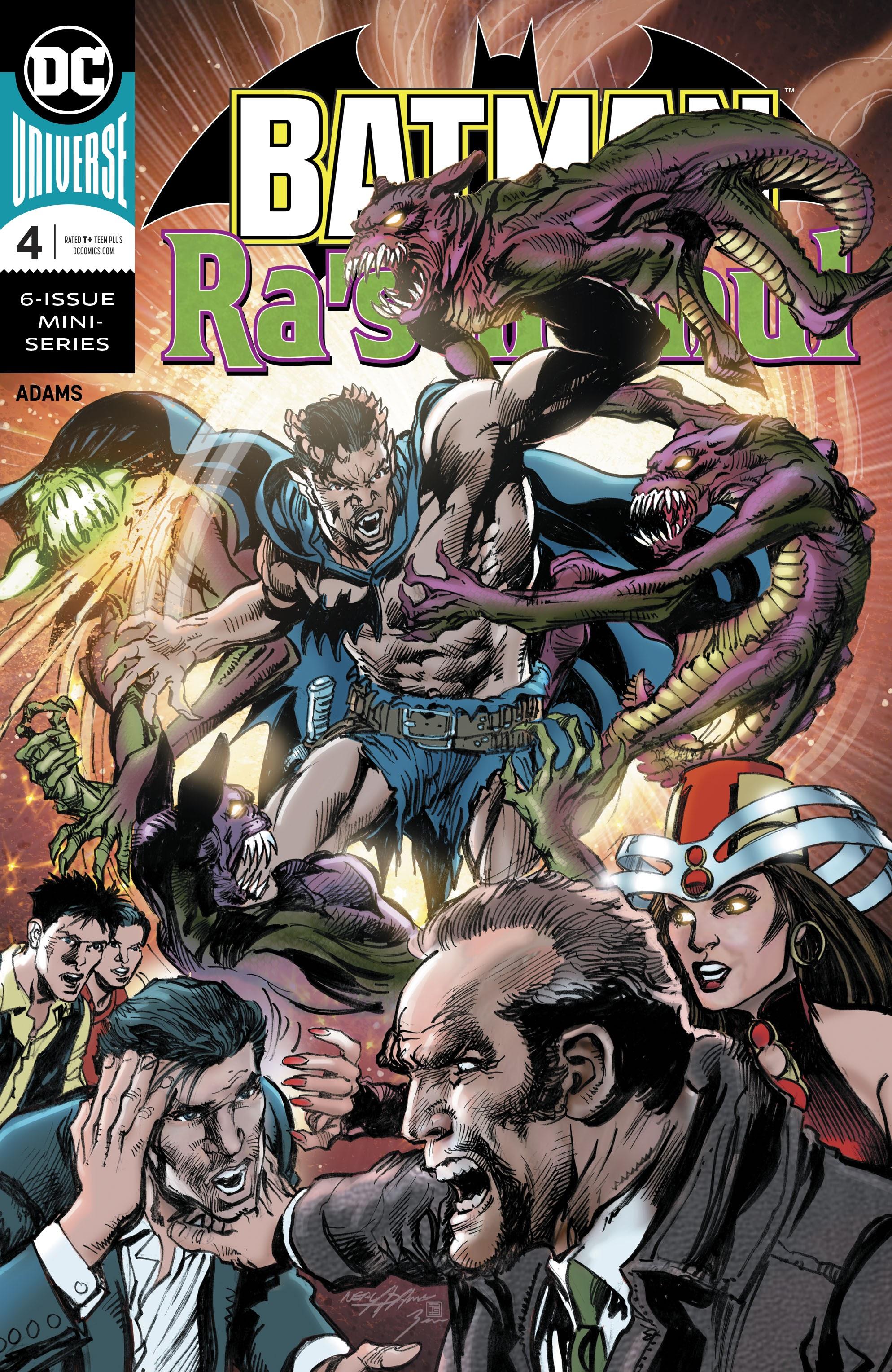 Batman Vs. Ras al Ghul 4 Page 1