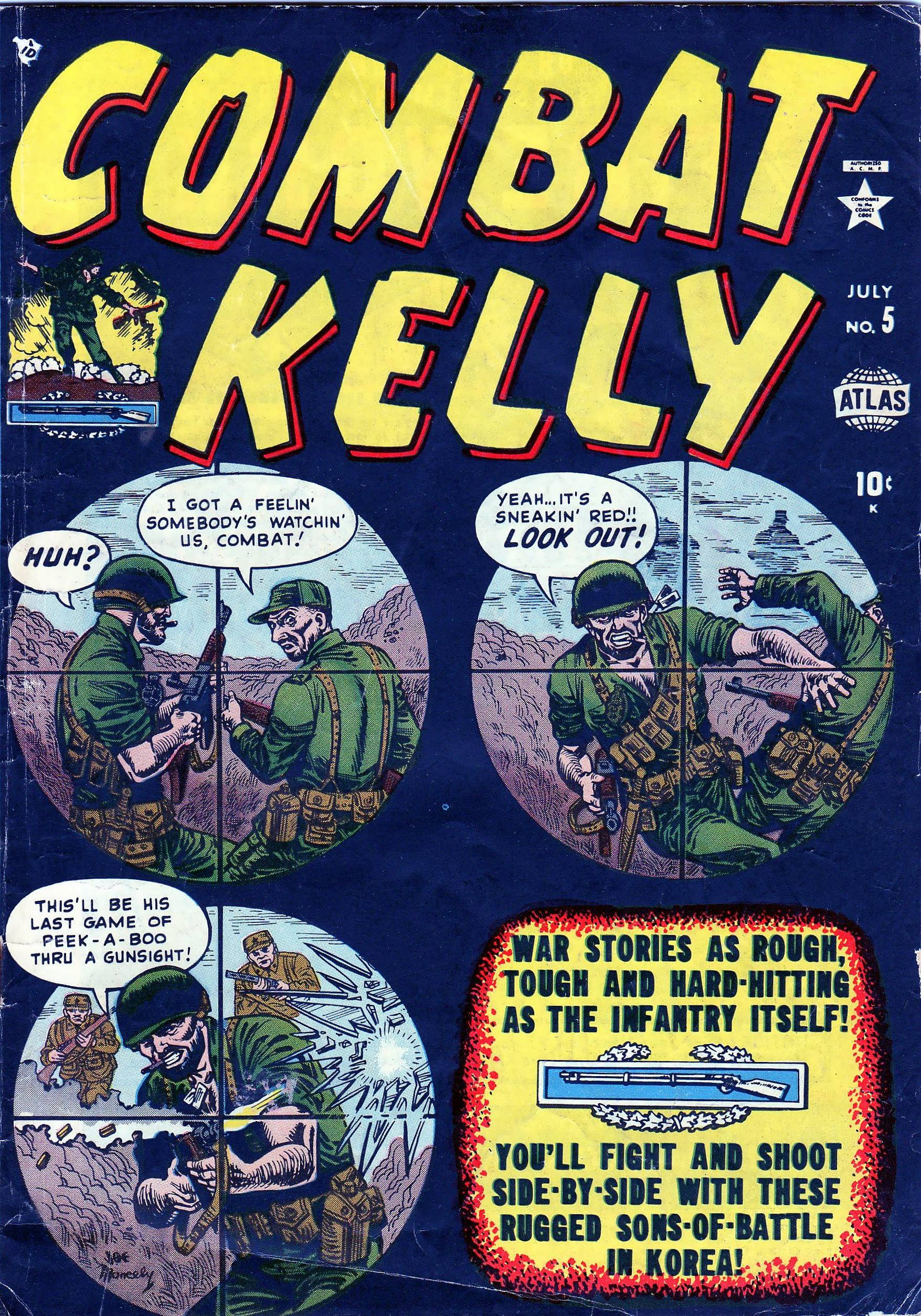 Combat Kelly (1951) 5 Page 1