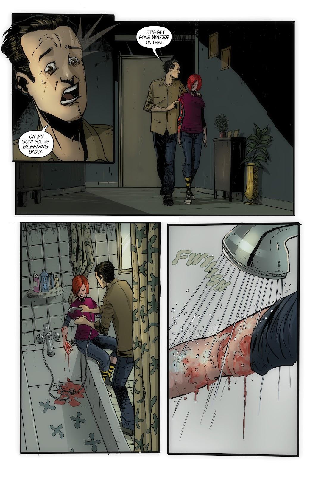 Read online John Carpenter Presents Storm Kids: Monica Bleue: A Werewolf Story comic -  Issue #1 - 27