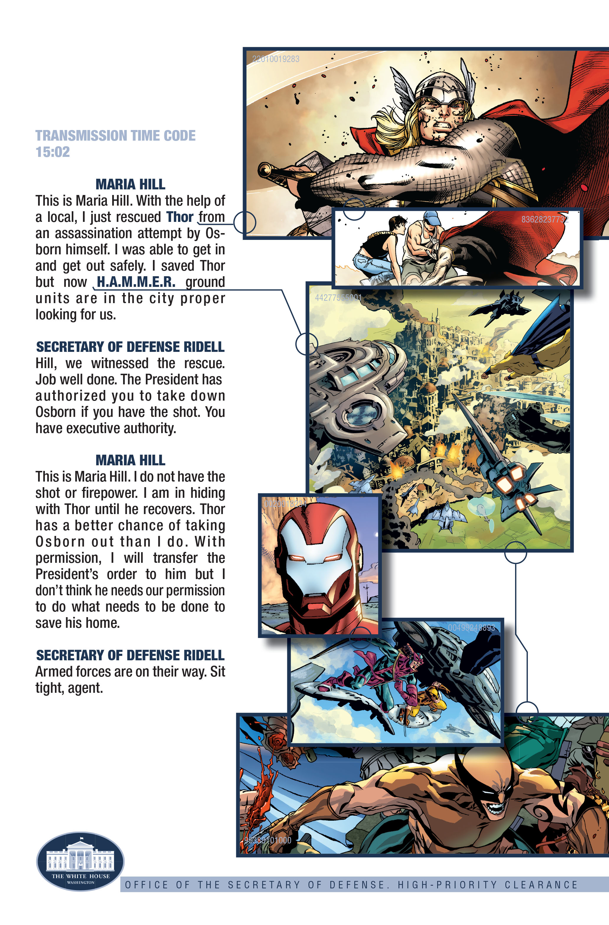 Read online Siege (2010) comic -  Issue #3 - 25