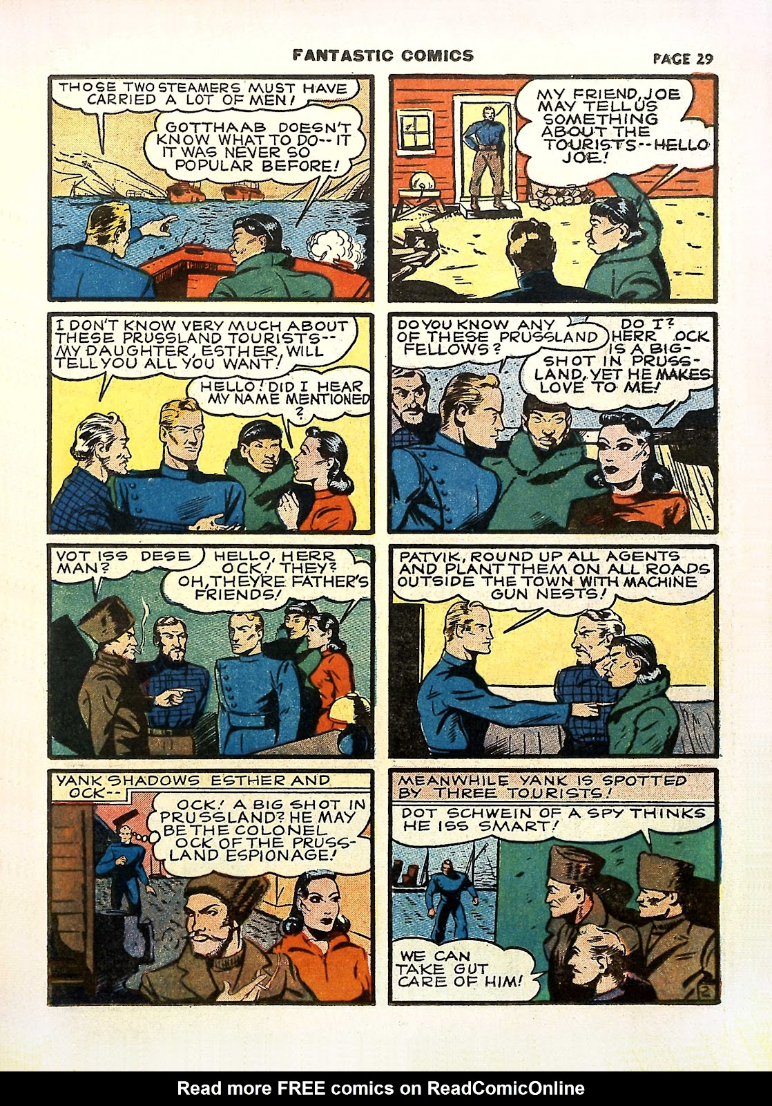 Read online Fantastic Comics comic -  Issue #11 - 32