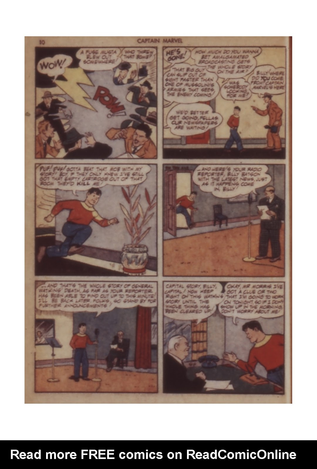 Captain Marvel Adventures issue 11 - Page 10