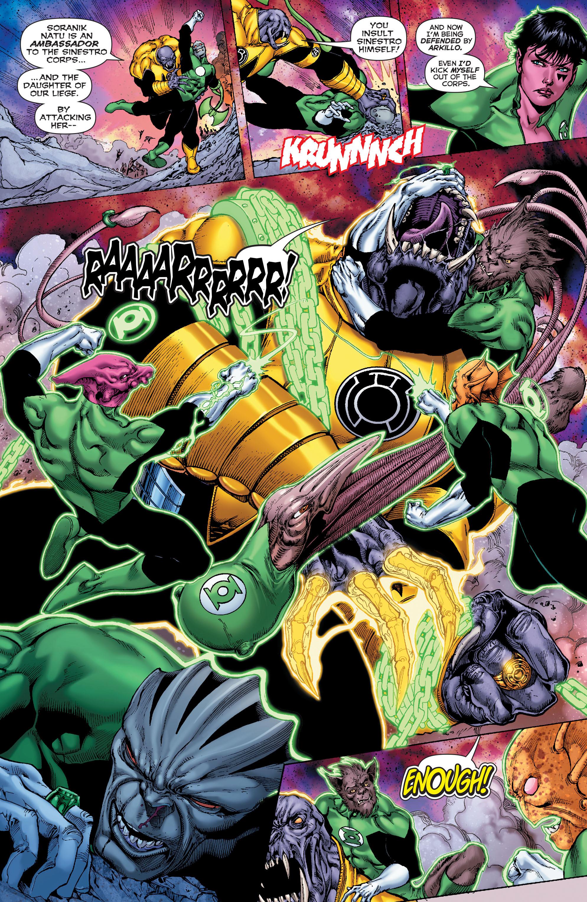 Read online Sinestro comic -  Issue #7 - 14