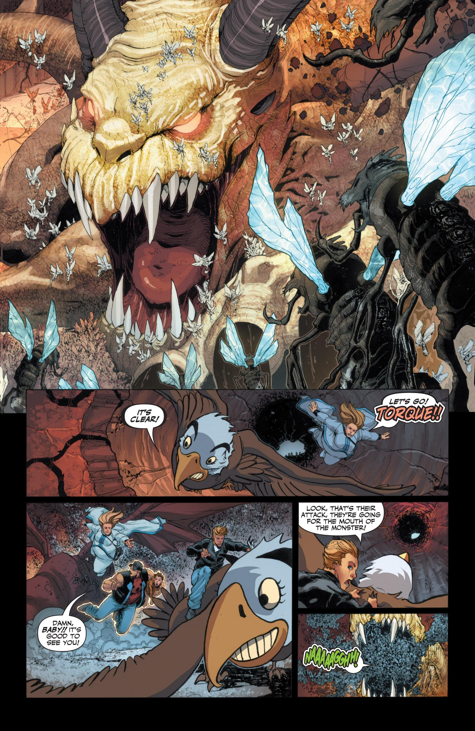 Read online Armor Hunters: Harbinger comic -  Issue # TPB - 50