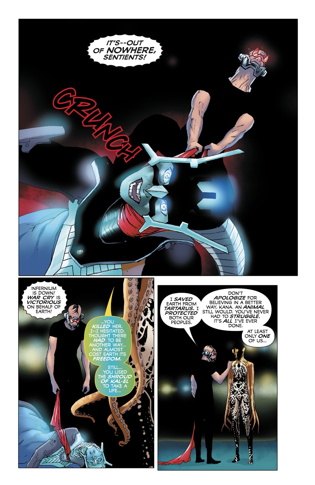 Read online Electric Warriors comic -  Issue #4 - 13