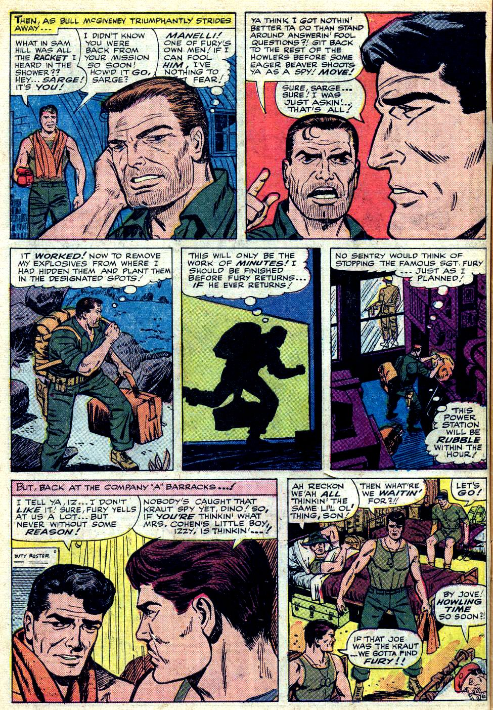 Read online Sgt. Fury comic -  Issue #25 - 10