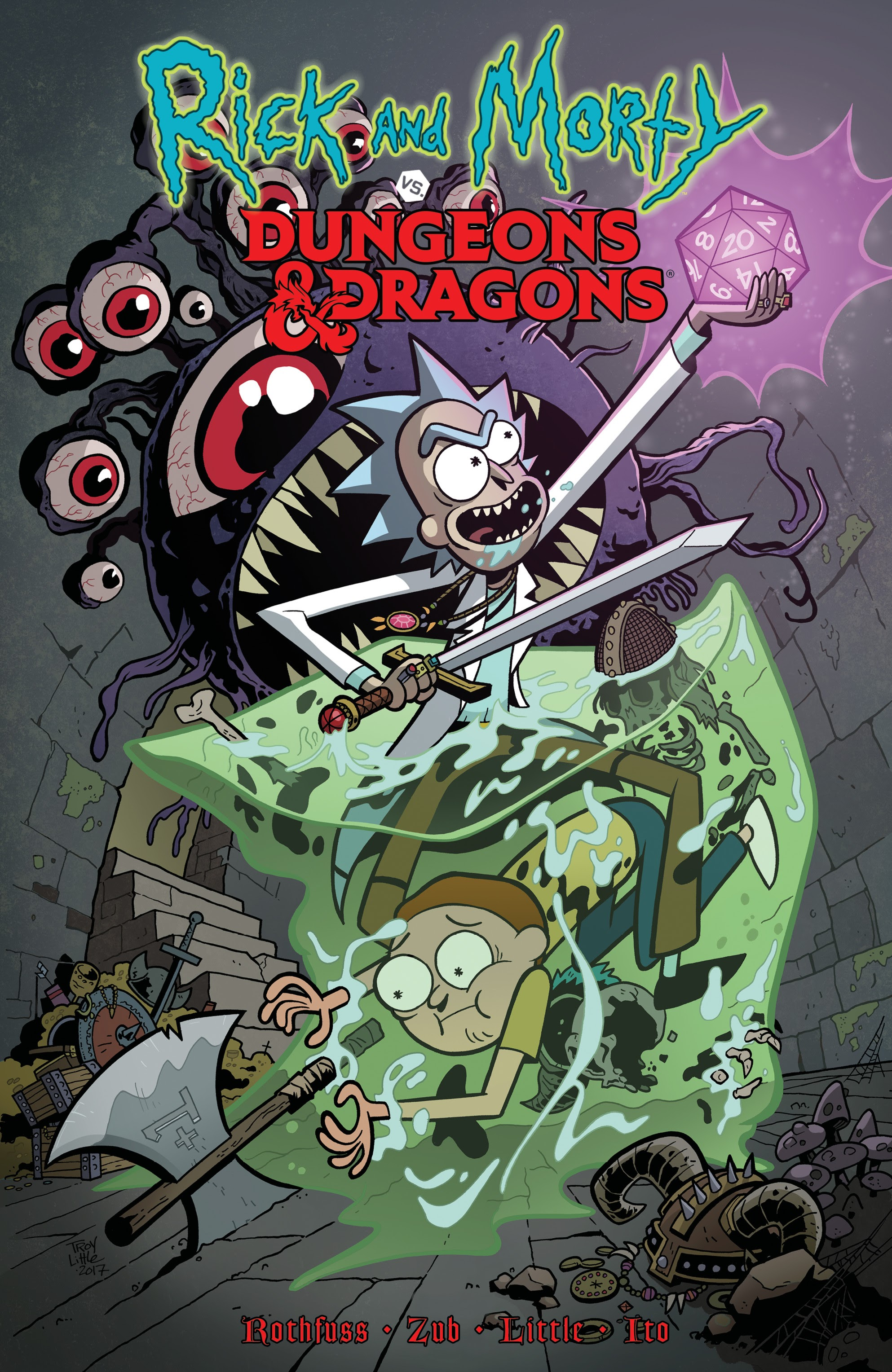 Rick and Morty vs Dungeons & Dragons _TPB Page 1