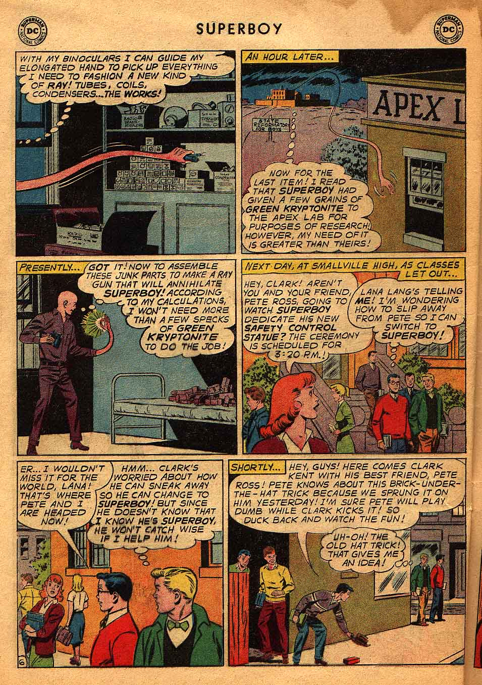 Superboy (1949) issue 96 - Page 7