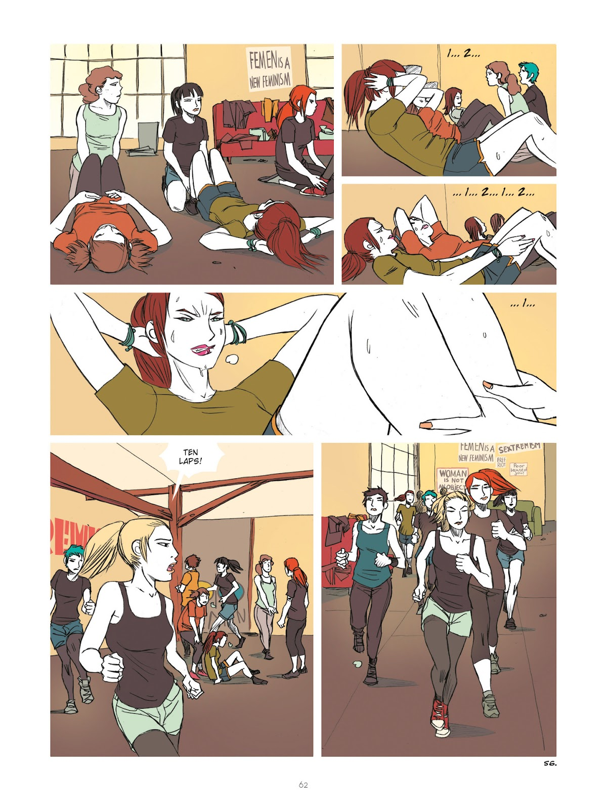 Read online Diary of A Femen comic -  Issue # TPB - 64