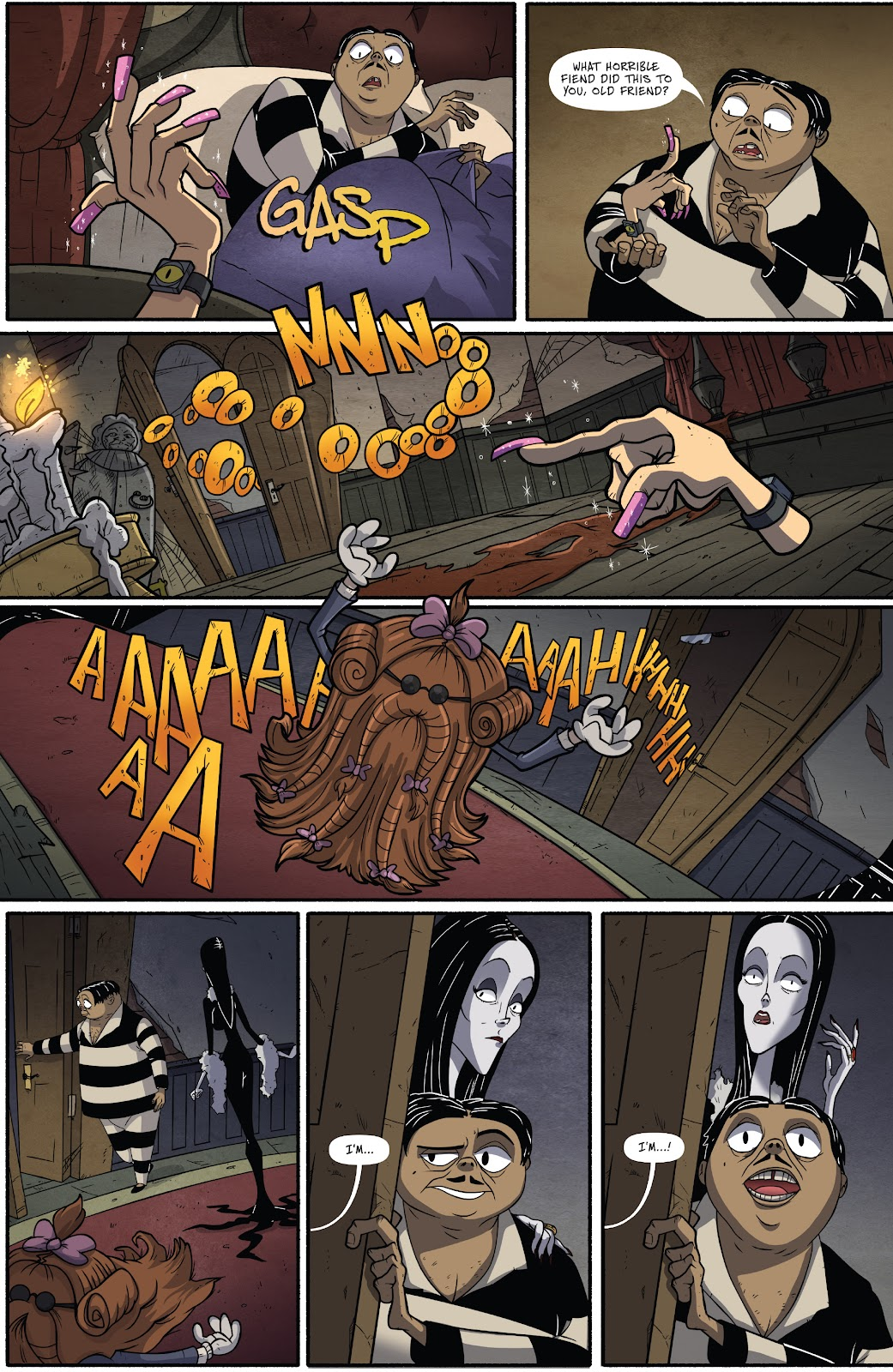 Read online Addams Family: The Bodies Issue comic -  Issue # Full - 19