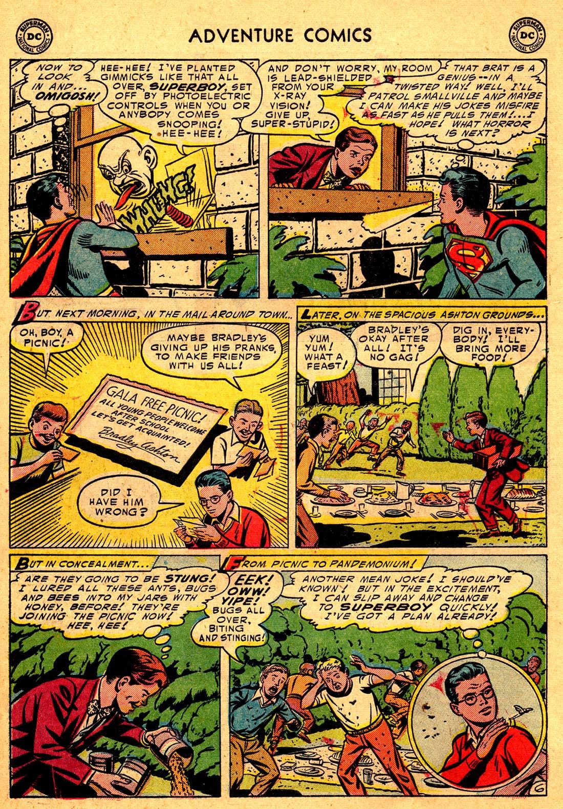 Read online Adventure Comics (1938) comic -  Issue #204 - 8