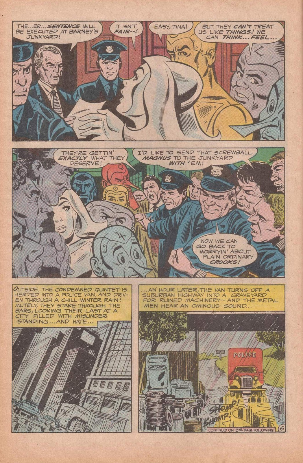 Metal Men (1963) issue 37 - Page 8