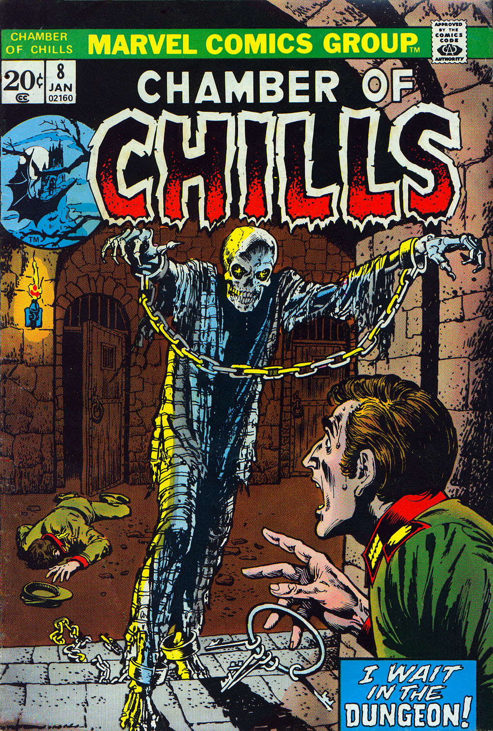 Chamber of Chills (1972) issue 8 - Page 1