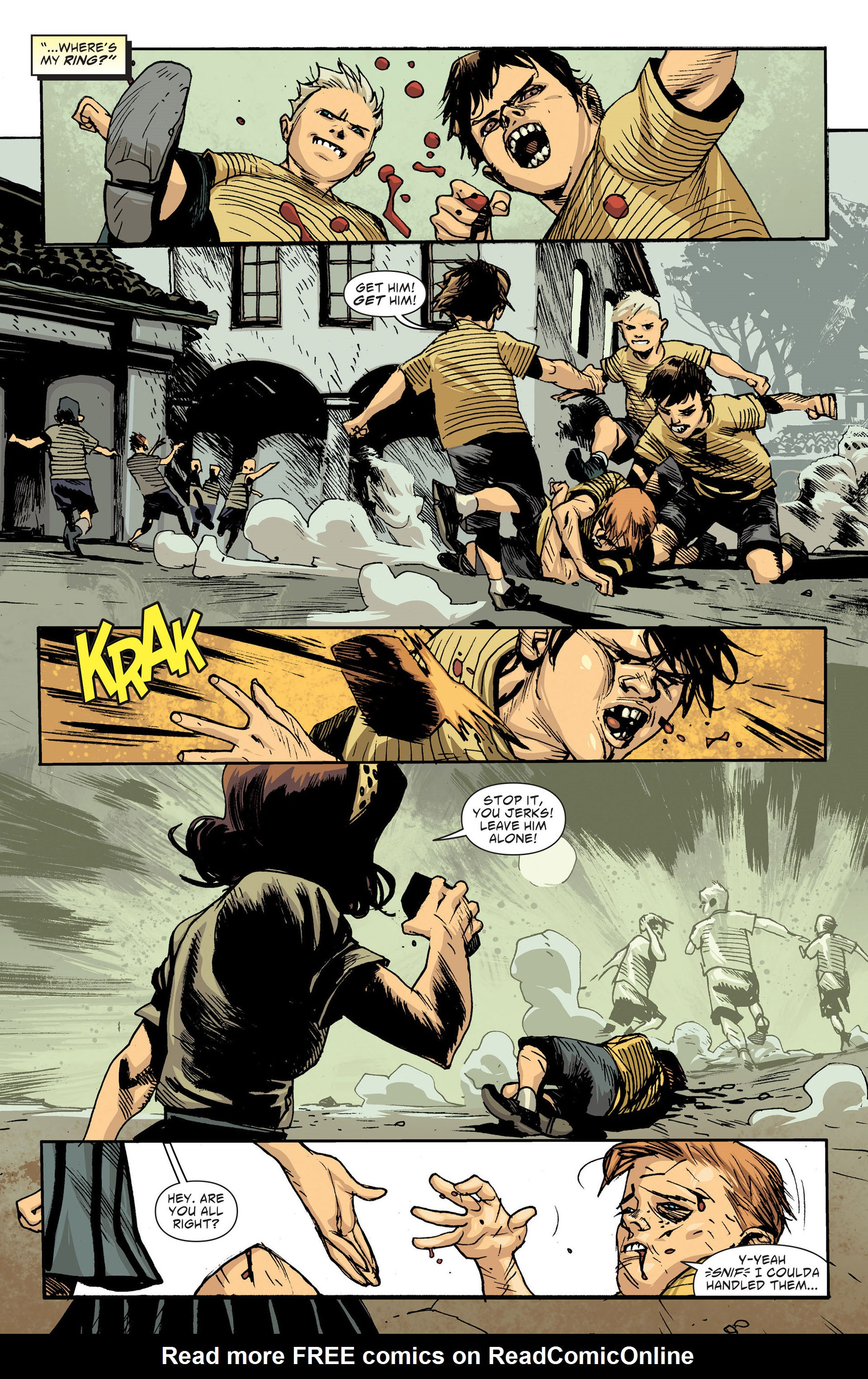 Read online American Vampire: The Long Road To Hell comic -  Issue # Full - 12