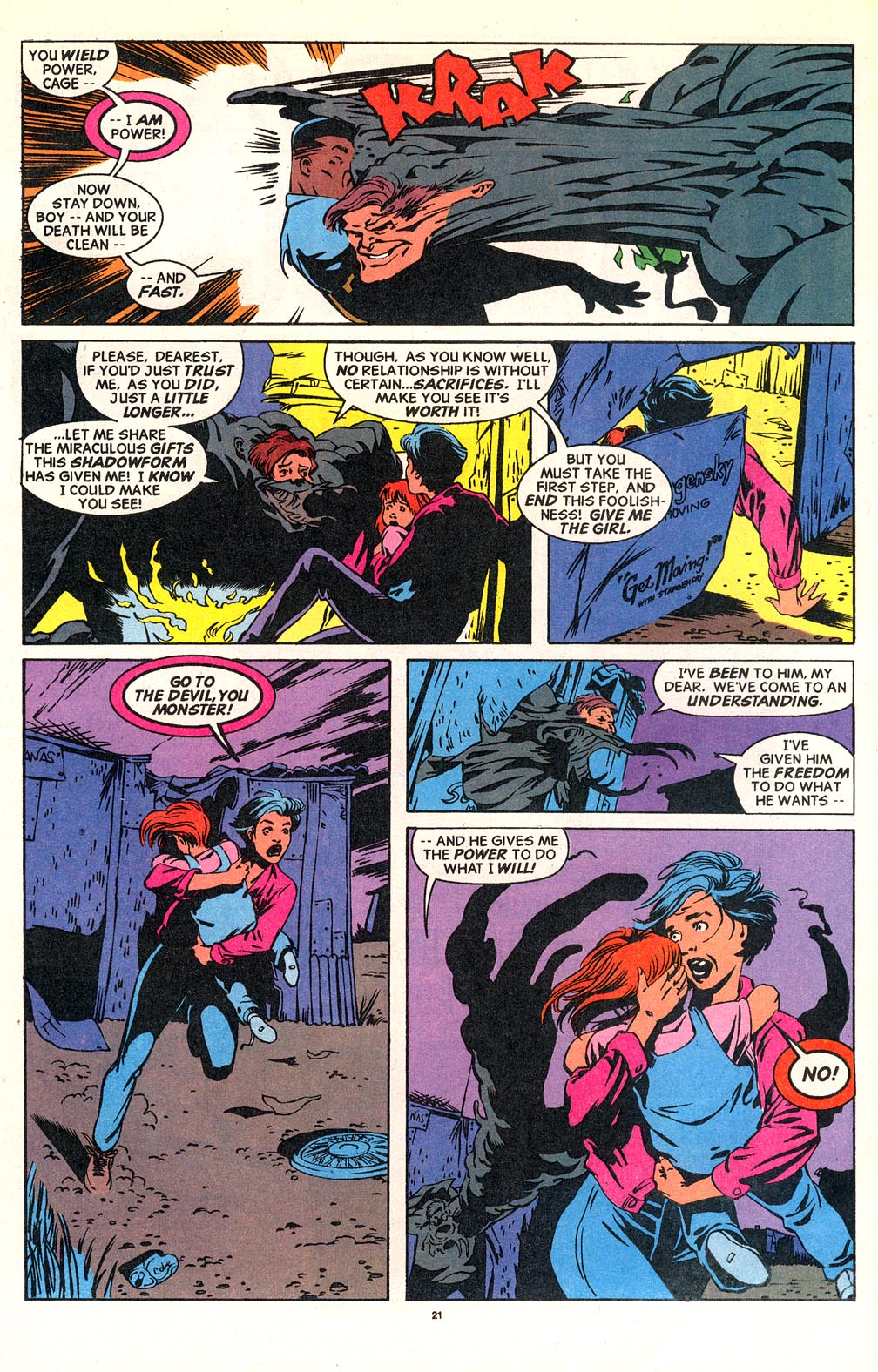 Cage (1992) issue 18 - Page 18