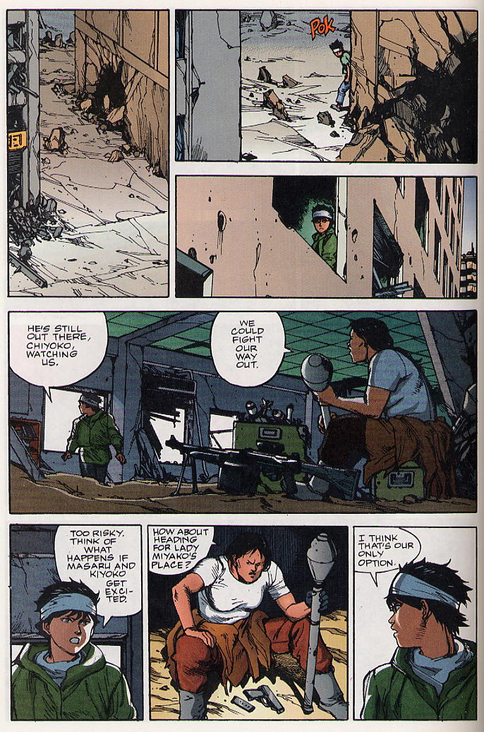 Read online Akira comic -  Issue #19 - 23
