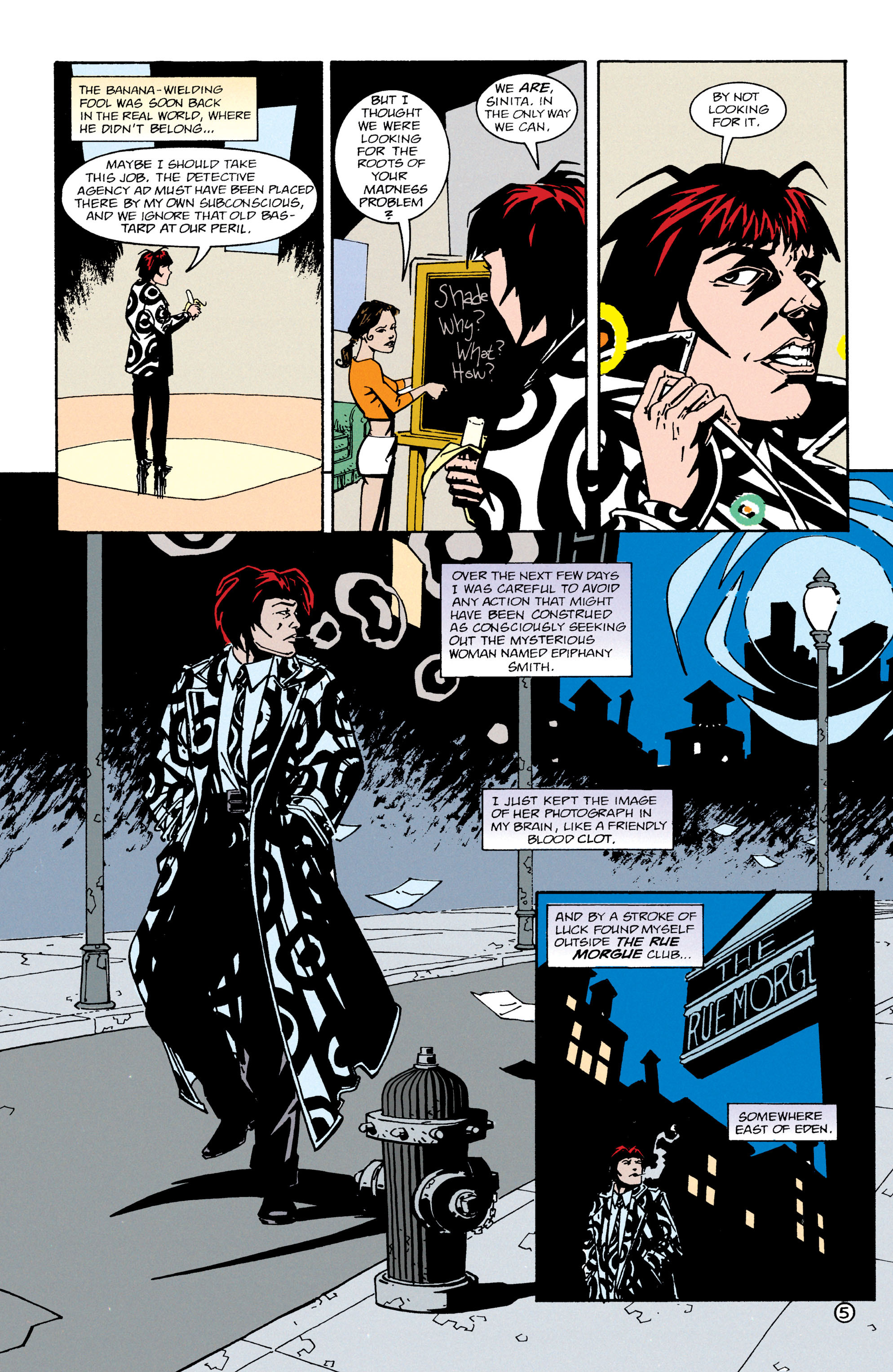 Read online Shade, the Changing Man comic -  Issue #65 - 6