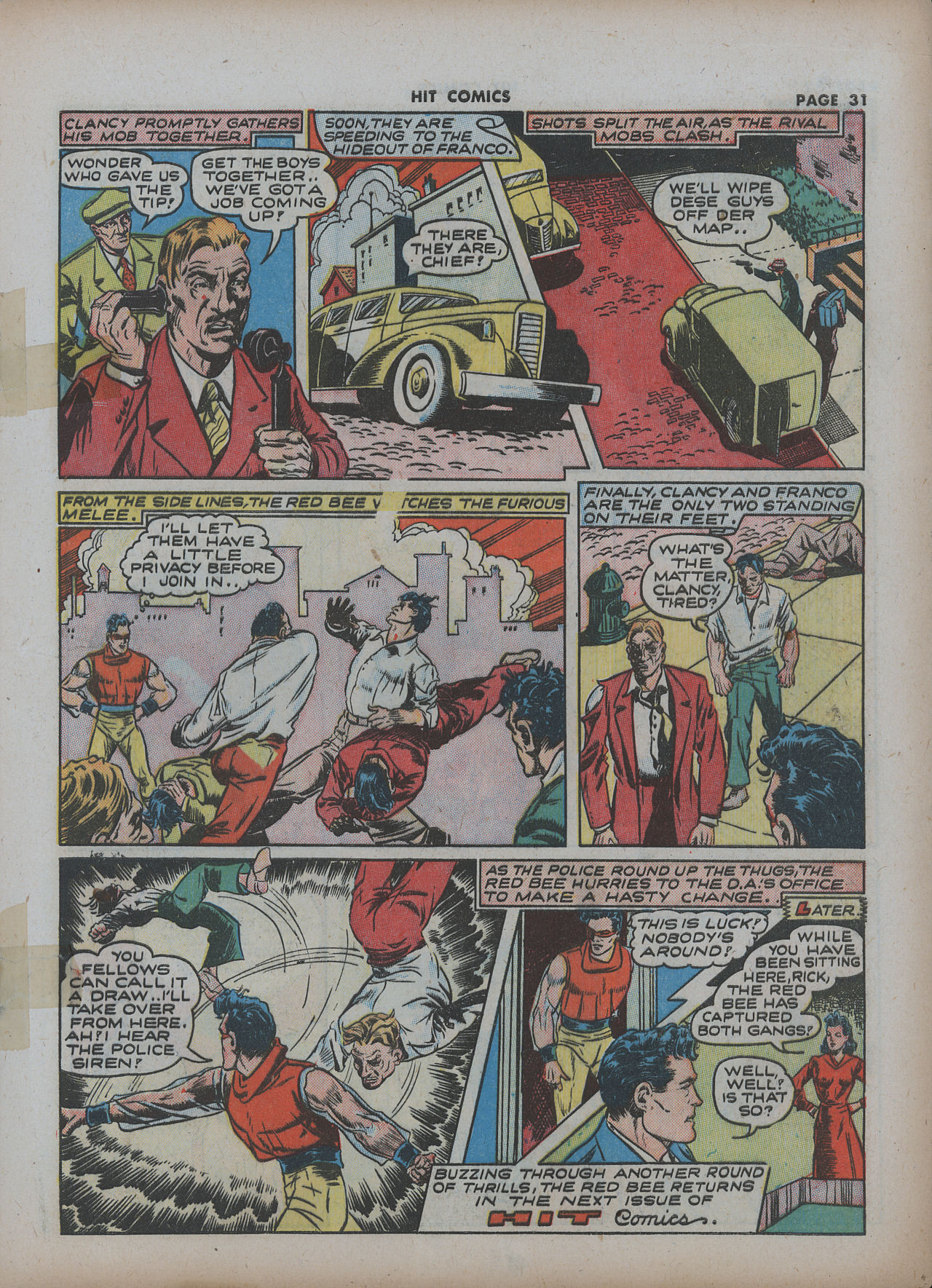 Read online Hit Comics comic -  Issue #22 - 33