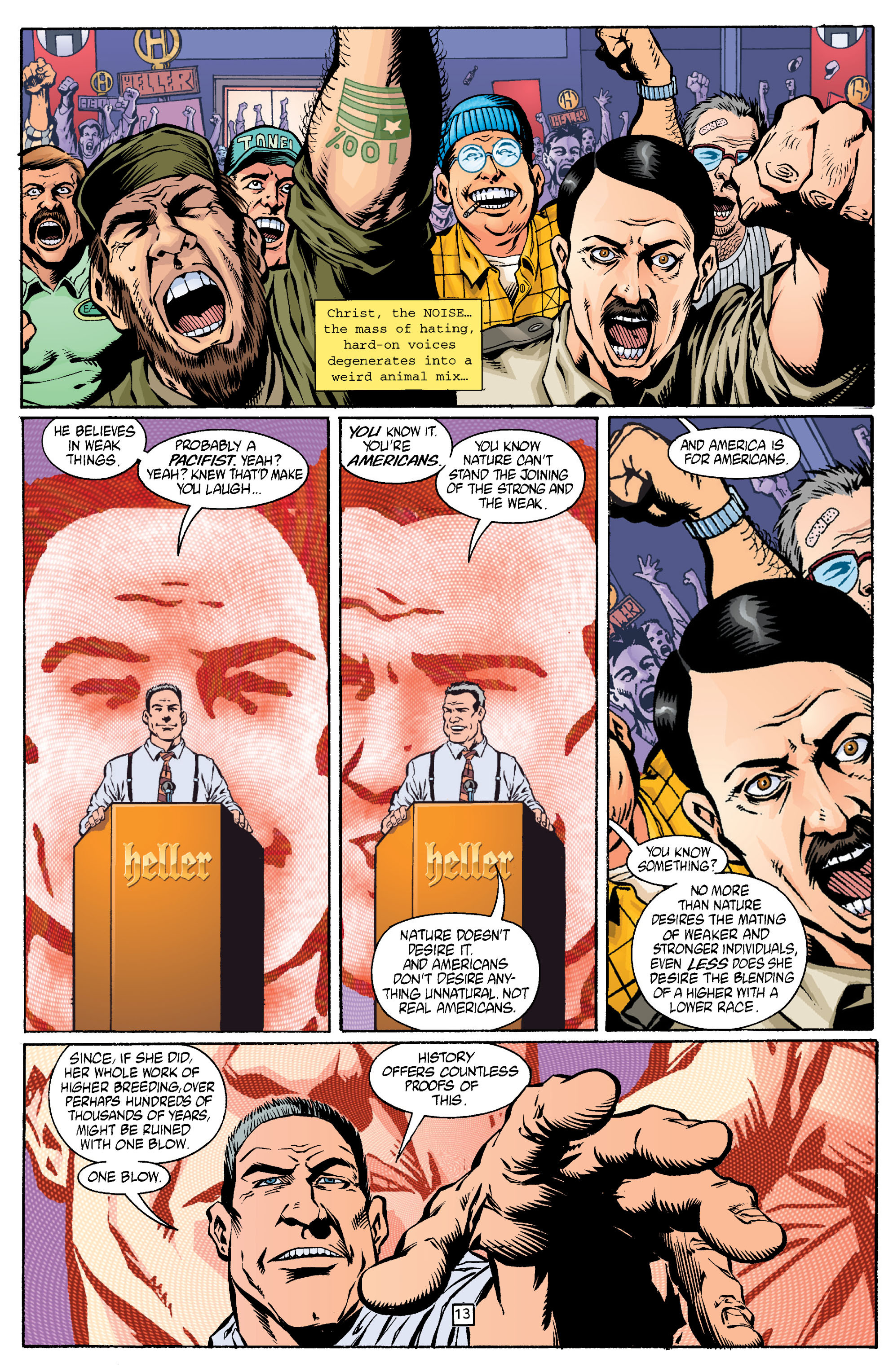 Read online Transmetropolitan comic -  Issue #15 - 14