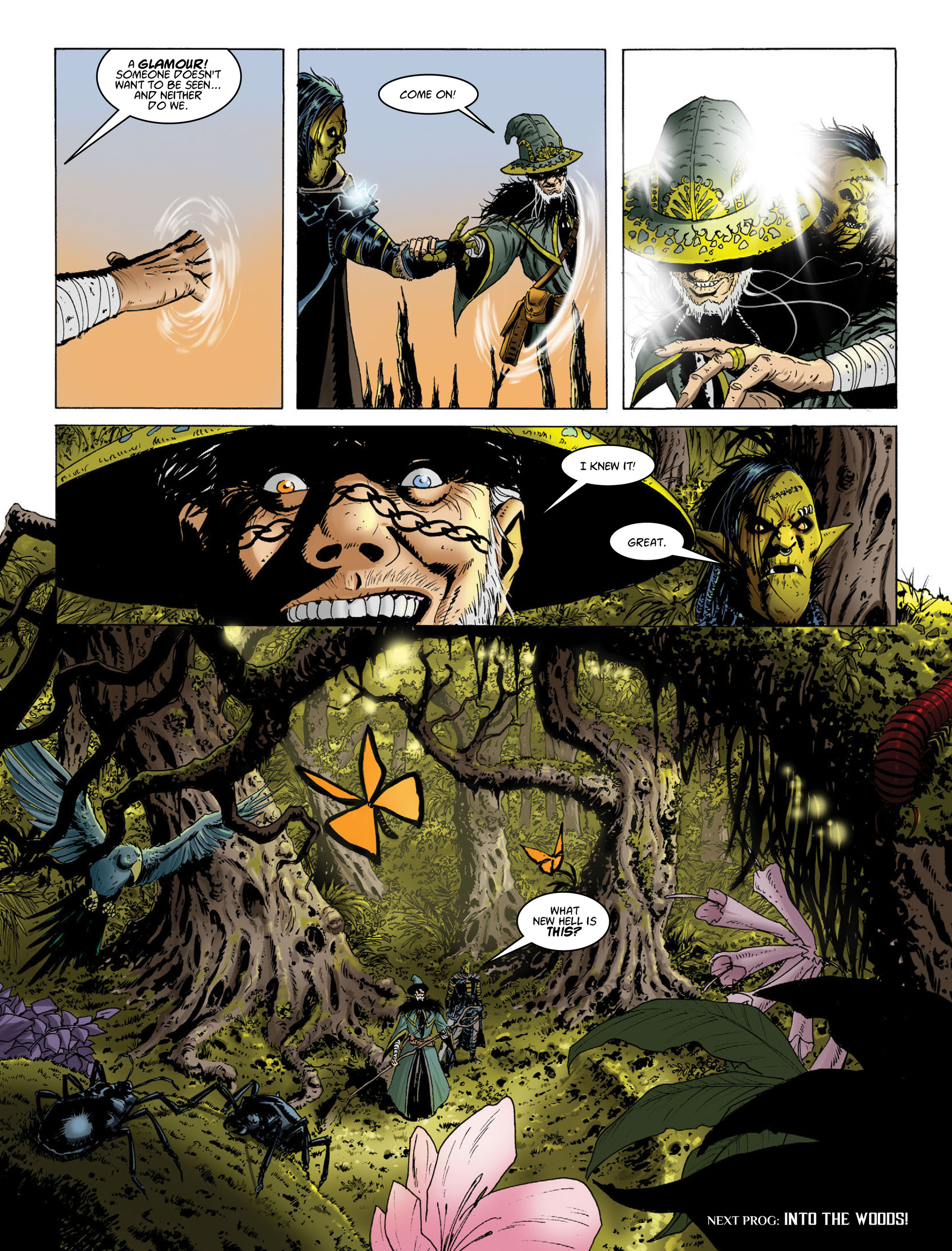 Read online 2000 AD comic -  Issue #2014 - 14
