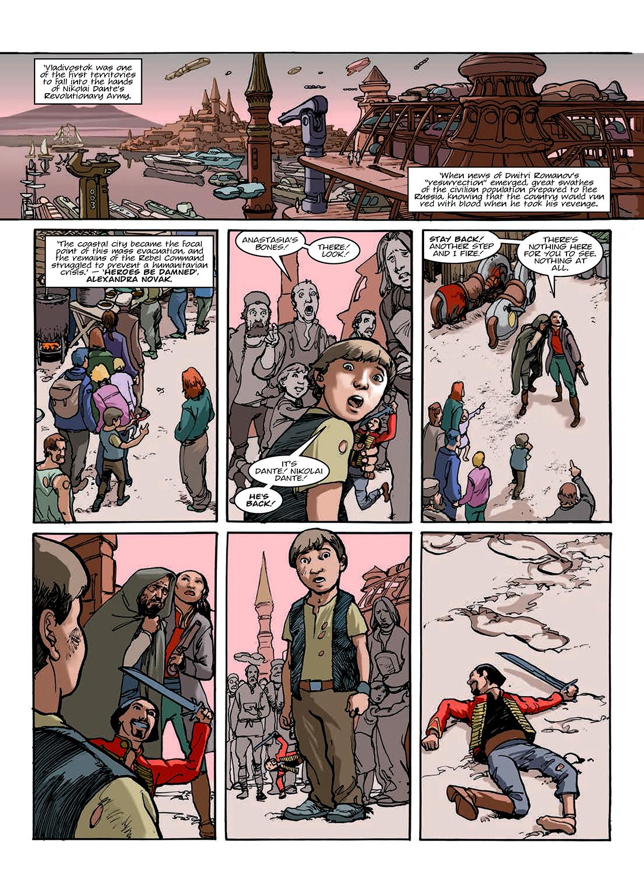 Read online Nikolai Dante comic -  Issue # TPB 10 - 142