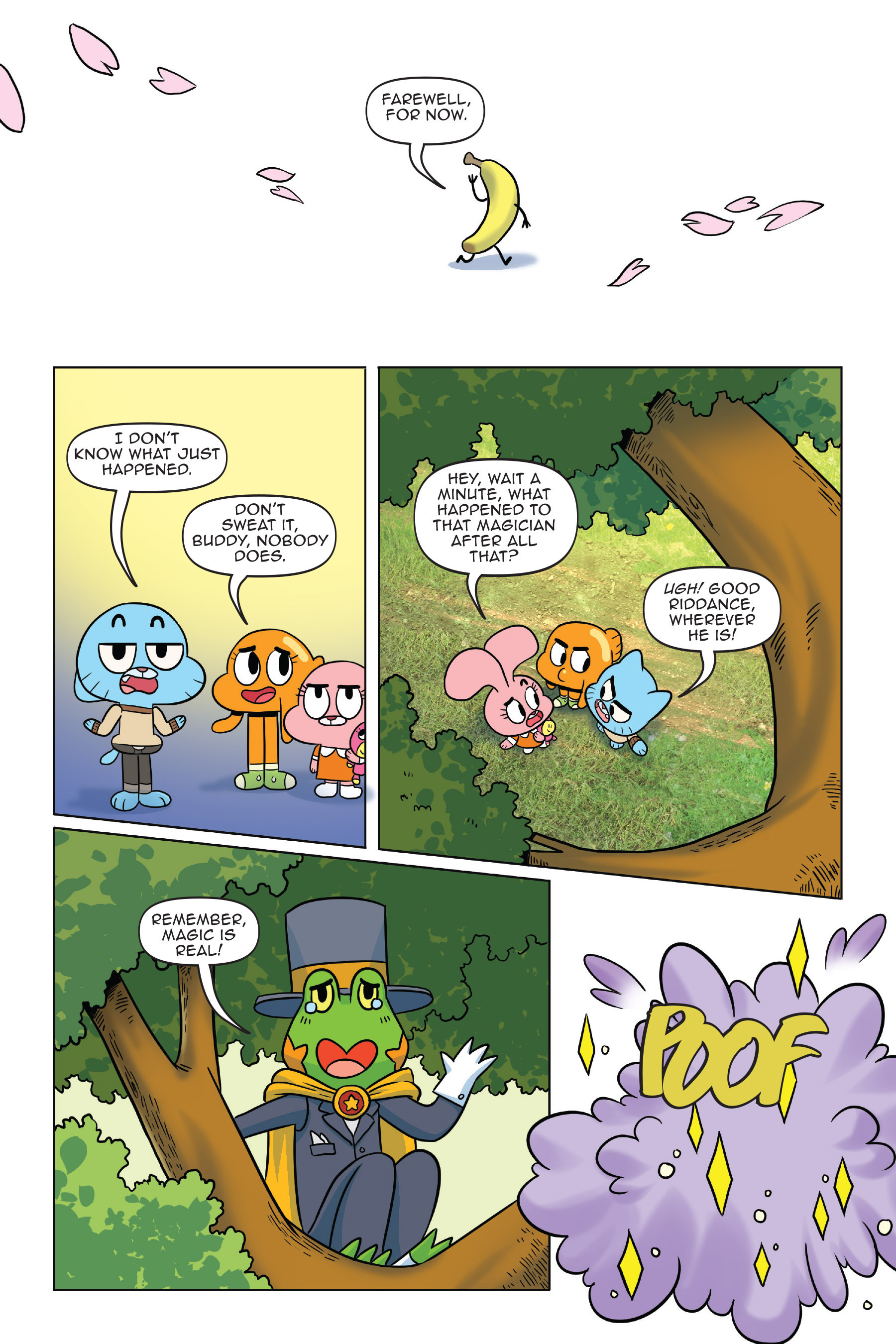 Read online The Amazing World of Gumball: Fairy Tale Trouble comic -  Issue # Full - 135