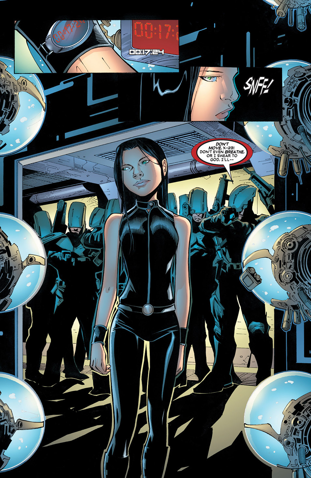 Read online X-23 (2005) comic -  Issue #6 - 7