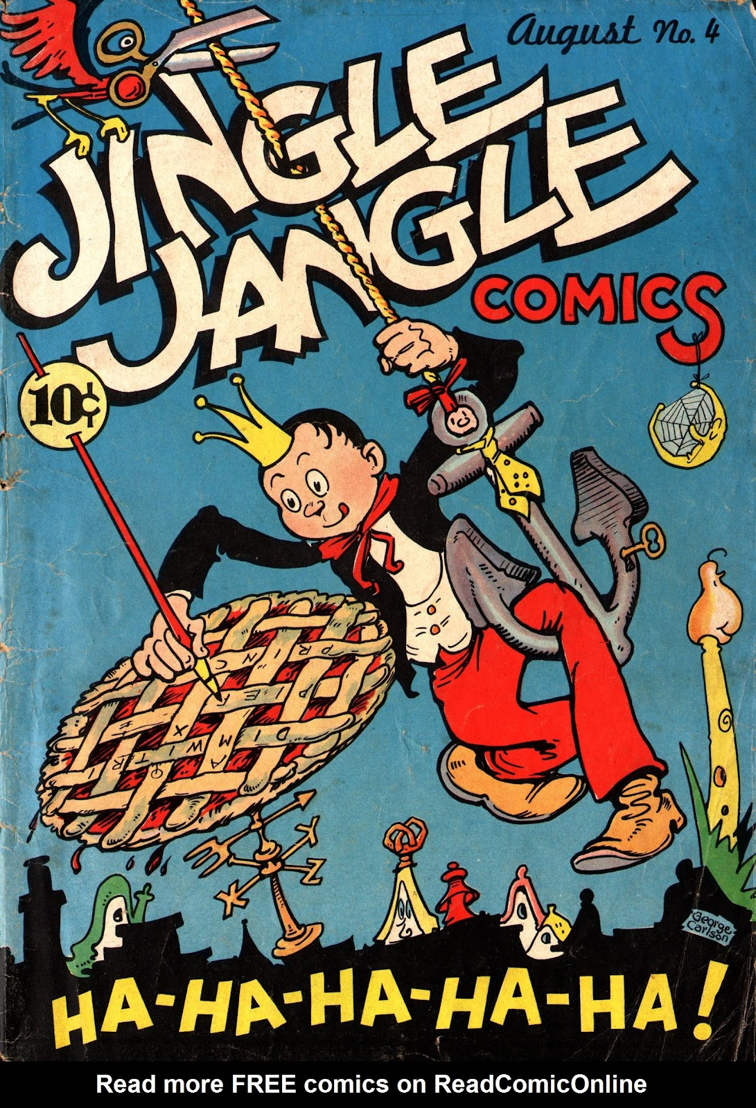 Jingle Jangle Comics issue 4 - Page 1