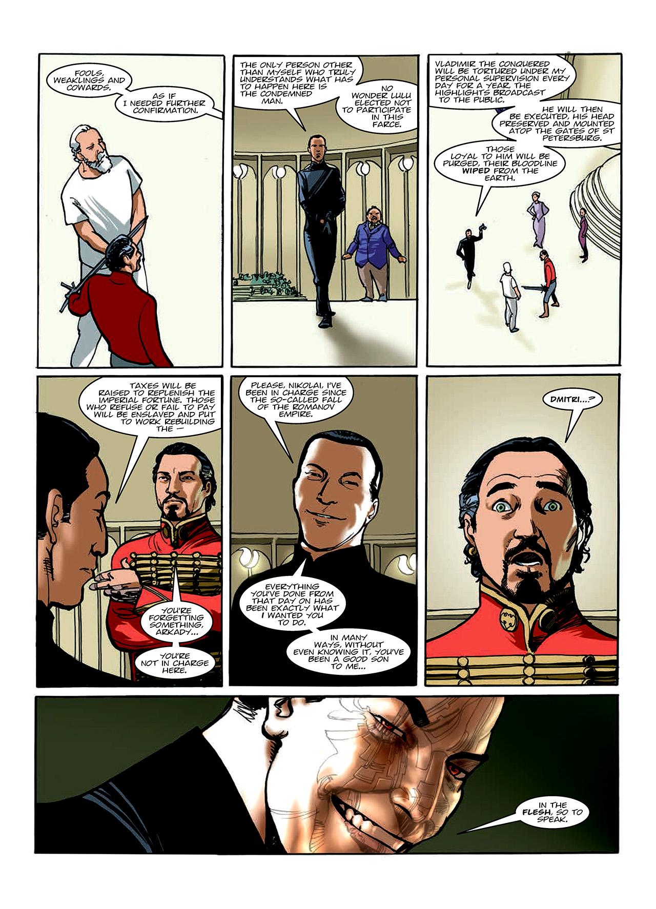 Read online Nikolai Dante comic -  Issue # TPB 10 - 92
