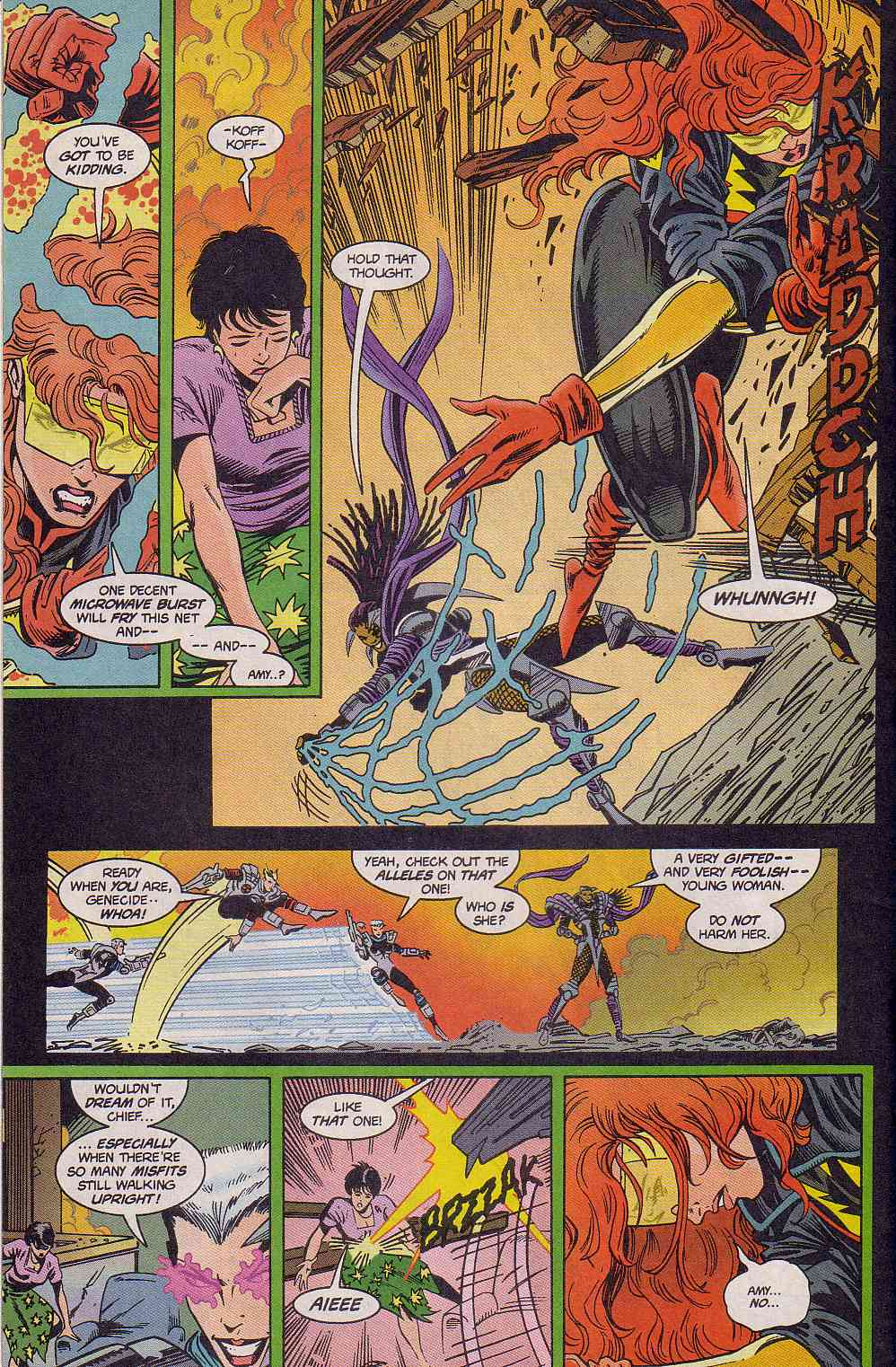 The New Warriors Issue #63 #67 - English 21