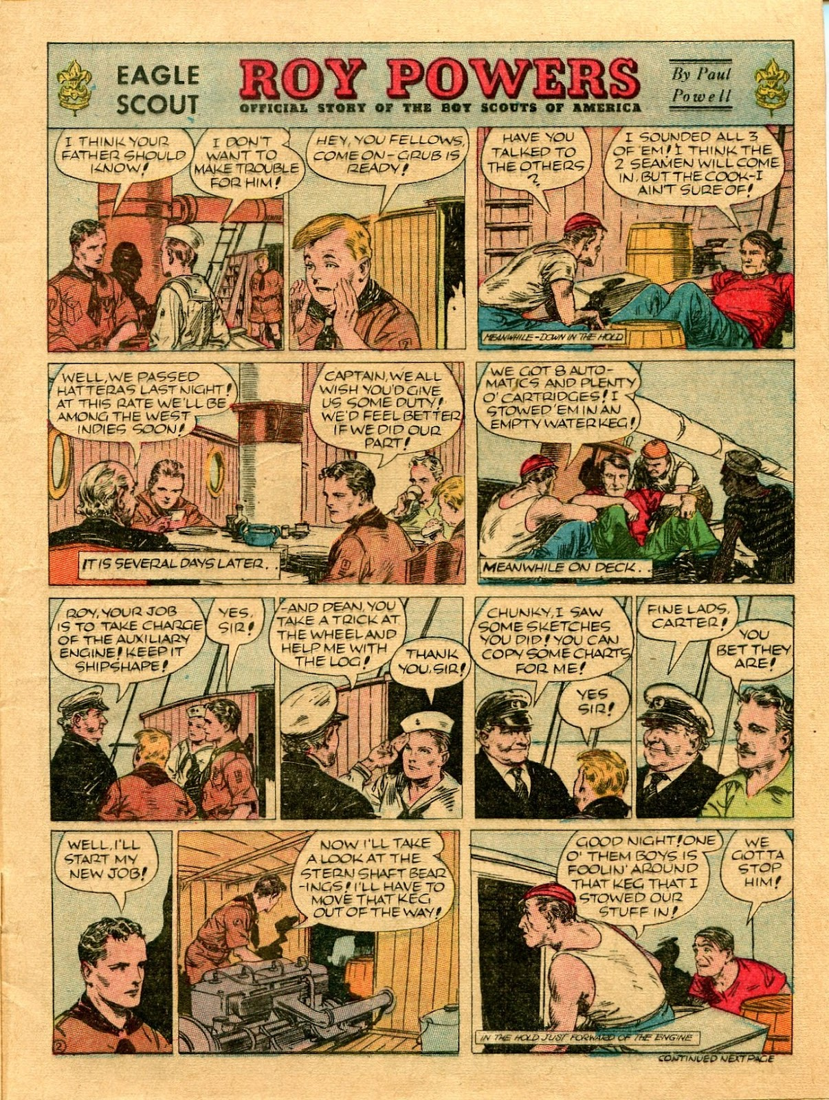 Read online Famous Funnies comic -  Issue #56 - 7