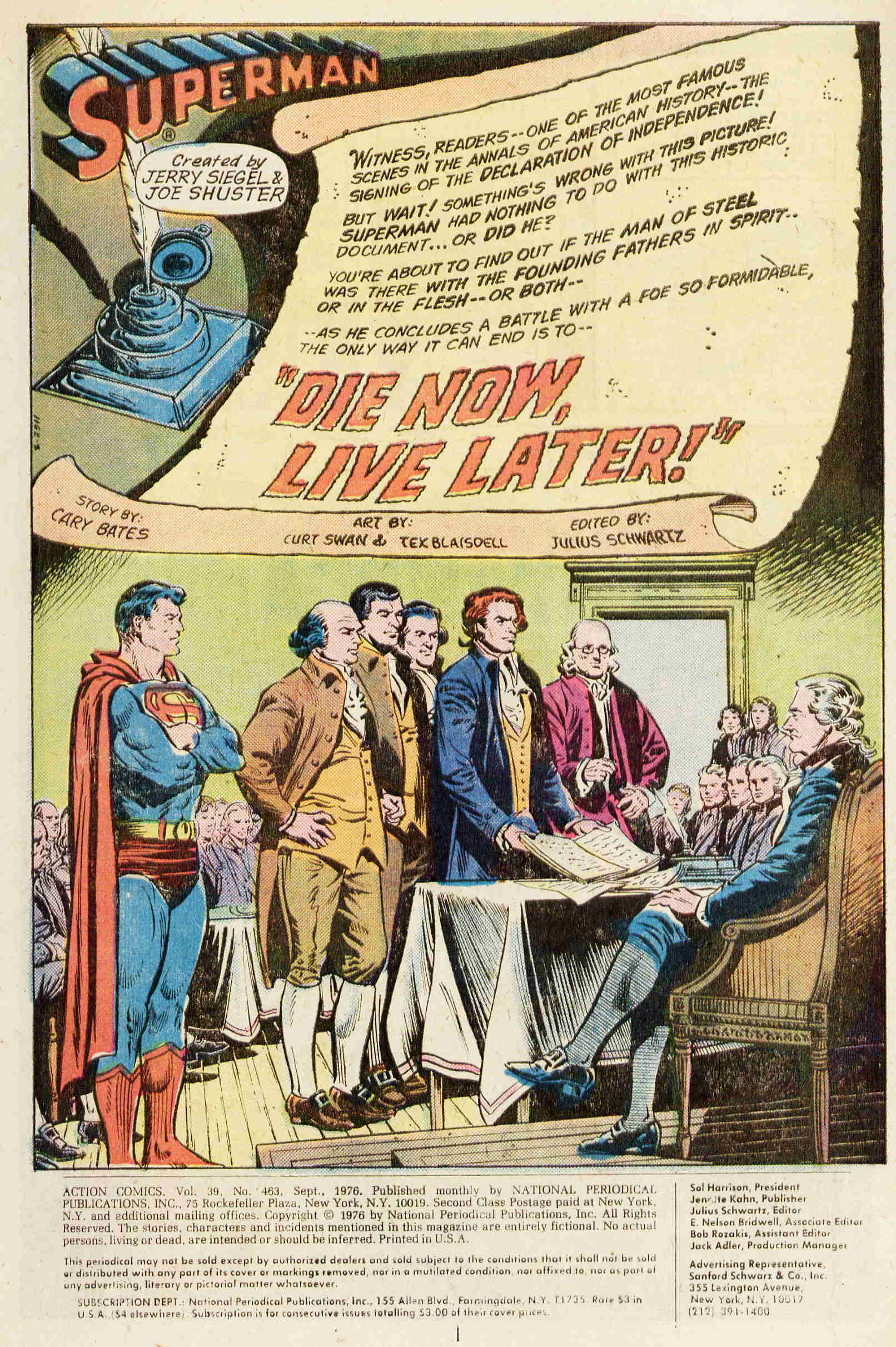 Read online Action Comics (1938) comic -  Issue #463 - 2