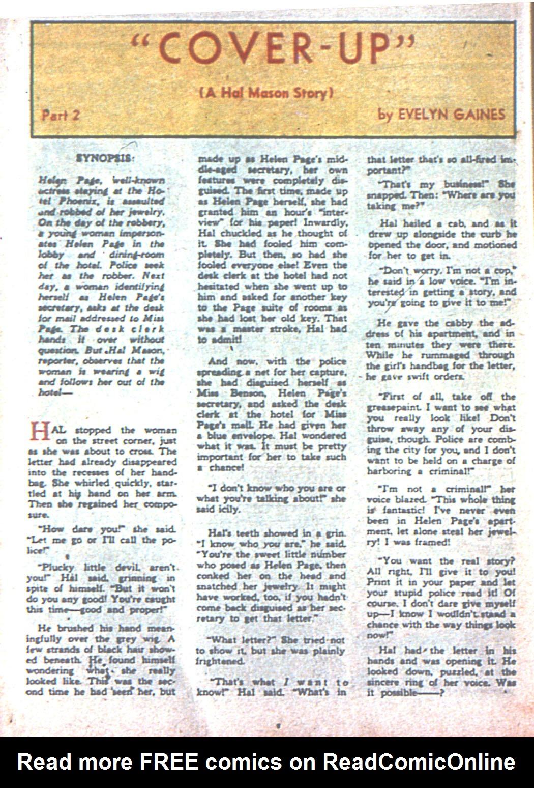 Read online Sensation (Mystery) Comics comic -  Issue #3 - 46