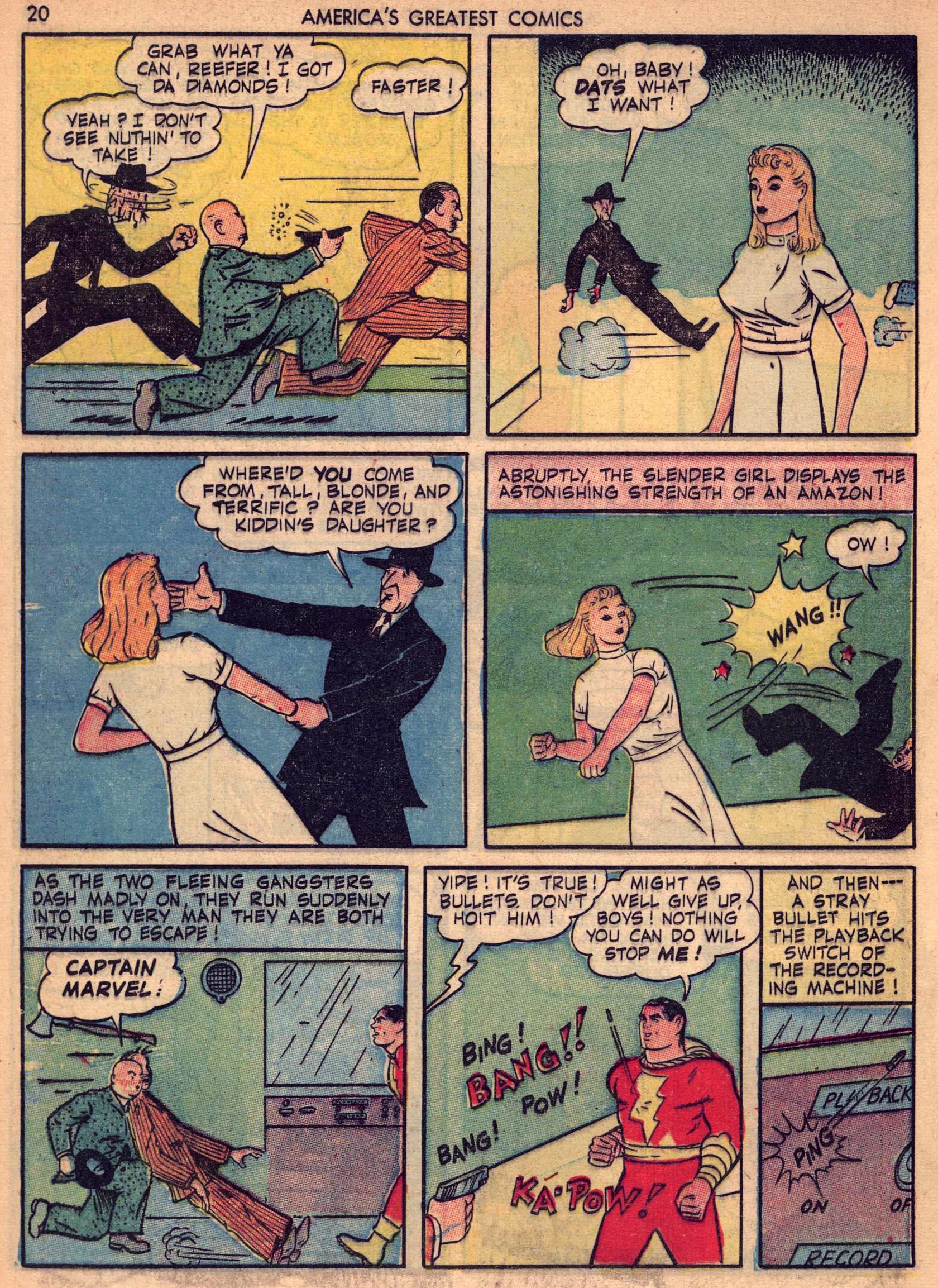 Read online America's Greatest Comics comic -  Issue #7 - 19